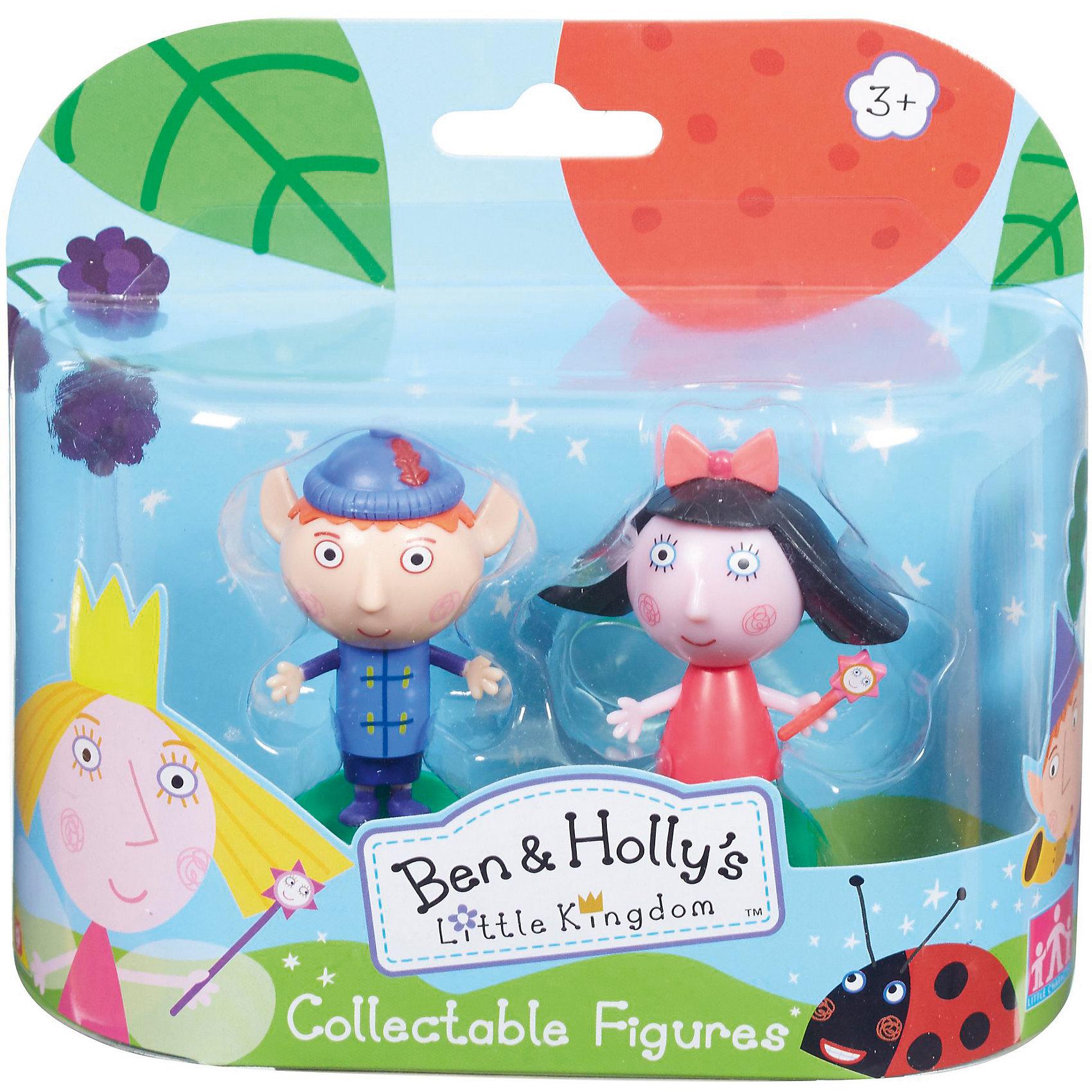 Игровой набор Бен и Флёр, Бен и ХоллиБен и Холли<br>Игровой набор Бен и Флёр приведет в восторг любителей мультика Маленькое королевство Бена и Холли. В наборе есть фигурки Бена и Флёр с подвижными деталями. Благодаря двигающимся рукам и ногам героев, с ними можно придумать множество игр, тем более, чтоб малышам нужно будет активнее задействовать пальчики и творческое мышление!<br>Набор сделан из высококачественного пластика, который безопасен для малышей. Набор яркий, очень симпатично смотрится. Он будет отличным подарком ребенку! Подобные игрушки отлично помогают развитию у детей воображения и моторики.<br><br>Дополнительная информация:<br><br>цвет: разноцветный;<br>материал: пластик;<br>комплектация: фигурки Флёр и Бена;<br>размер фигурки: 6 см;<br>размер упаковки: 14,5 х 15,5 х 5 см.<br><br>Игровой набор Бен и Флёр от бренда Бен и Холли можно приобрести в нашем интернет-магазине.<br><br>Ширина мм: 145<br>Глубина мм: 155<br>Высота мм: 50<br>Вес г: 118<br>Возраст от месяцев: 36<br>Возраст до месяцев: 2147483647<br>Пол: Унисекс<br>Возраст: Детский<br>SKU: 4970299