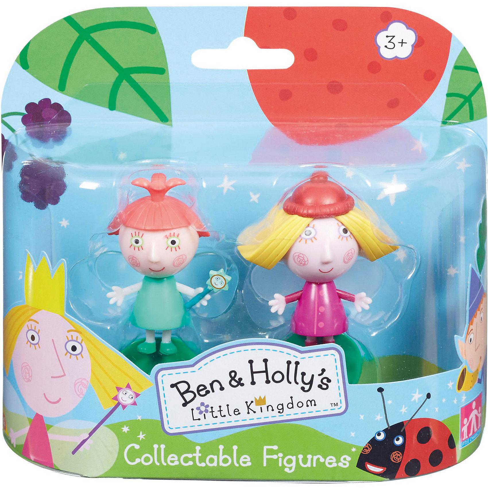 Игровой набор Холли и Стробери, Бен и ХоллиИгровой набор Холли и Стробери приведет в восторг любителей мультика Маленькое королевство Бена и Холли. В наборе есть фигурки Холли и Стробери с подвижными деталями. Благодаря двигающимся рукам и ногам героев, с ними можно придумать множество игр, тем более, чтоб малышам нужно будет активнее задействовать пальчики и творческое мышление!<br>Набор сделан из высококачественного пластика, который безопасен для малышей. Набор яркий, очень симпатично смотрится. Он будет отличным подарком ребенку! Подобные игрушки отлично помогают развитию у детей воображения и моторики.<br><br>Дополнительная информация:<br><br>цвет: разноцветный;<br>материал: пластик;<br>комплектация: фигурки Холли и Стробери;<br>размер фигурки: 6 см;<br>размер упаковки: 14,5 х 15,5 х 5 см.<br><br>Игровой набор Холли и Стробери от бренда Бен и Холли можно приобрести в нашем интернет-магазине.<br><br>Ширина мм: 145<br>Глубина мм: 155<br>Высота мм: 50<br>Вес г: 118<br>Возраст от месяцев: 36<br>Возраст до месяцев: 2147483647<br>Пол: Унисекс<br>Возраст: Детский<br>SKU: 4970301