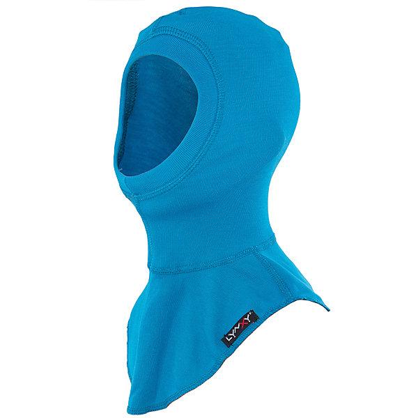 Шапка-шлем LynxyГоловные уборы<br>Характеристики товара:<br><br>• цвет: бирюзовый<br>• состав ткани: 95% полиэстер, 5% вискоза <br>• подкладка: нет<br>• сезон: зима<br>• температурный режим: от -30 до 0<br>• страна бренда: Россия<br>• страна изготовитель: Россия<br><br>Материал такой шапки-шлема для детей позволяет коже дышать и впитывает лишнюю влагу. Инновационная ткань шапки-шлема Trevira с микроначесом приятна на ощупь. Детская шапка-шлем помогает предотвратить замерзание ребенка на улице. <br><br>Шапку-шлем Lynxy (Линкси) можно купить в нашем интернет-магазине.<br>Ширина мм: 89; Глубина мм: 117; Высота мм: 44; Вес г: 155; Цвет: бирюзовый; Возраст от месяцев: 144; Возраст до месяцев: 180; Пол: Унисекс; Возраст: Детский; Размер: 56,52,54; SKU: 4971206;