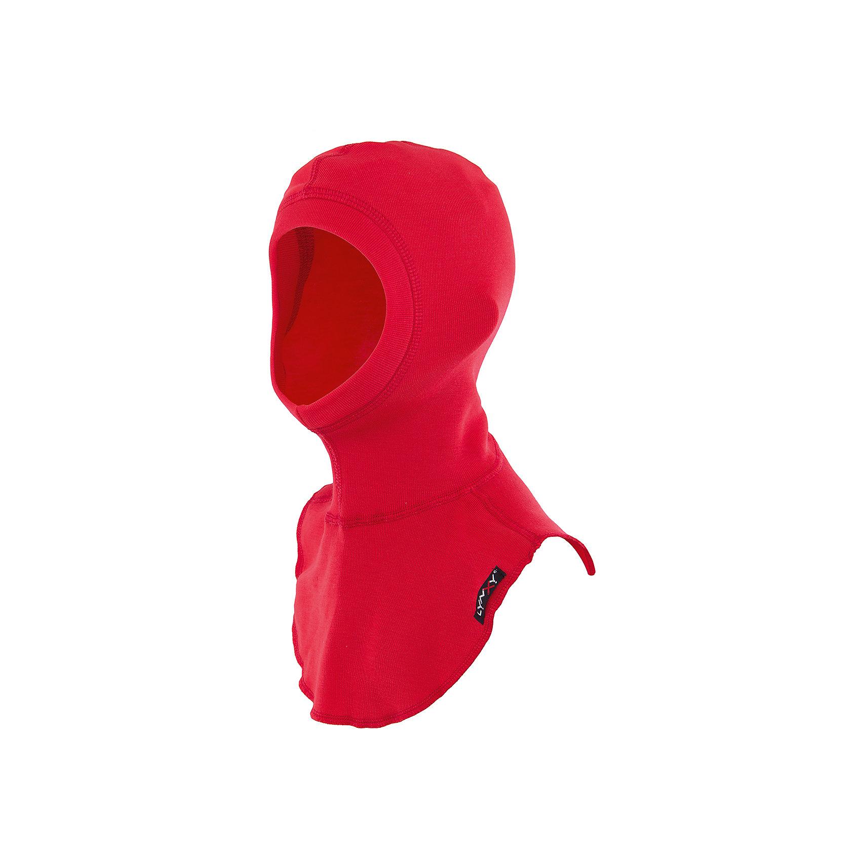 Шапка-шлем LynxyГоловные уборы<br>Шапка-шлем от известного бренда Lynxy.<br>Детский подшлемник выполнен из мягкого термополотна Trevira с микроначесом с изнаночной стороны. Благодаря эластичному и мягкому полотну приятно к телу, плоские швы и эргономические лекала обеспечивают комфортное прилегание изделия. Идеально сохраняет тепло и выводит влагу, позволяя коже оставаться сухой. Благодаря присутствию ионов серебра в структуре полотна, имеет противомикробные свойства. Идеально подходит для длительных прогулок и активных занятий спортом в холодное время года до - 30 градусов. Рекомендуется деликатная машинная стирка при температуре 40 градусов без предварительного замачивания.<br>Состав:<br>полиэстер 95%, вискоза 5%<br><br>Ширина мм: 89<br>Глубина мм: 117<br>Высота мм: 44<br>Вес г: 155<br>Цвет: красный<br>Возраст от месяцев: 60<br>Возраст до месяцев: 120<br>Пол: Унисекс<br>Возраст: Детский<br>Размер: 54,56,52<br>SKU: 4971217