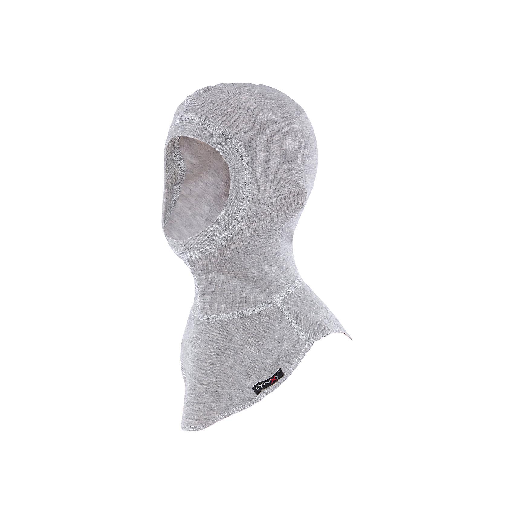 Шапка-шлем LynxyГоловные уборы<br>Шапка-шлем от известного бренда Lynxy.<br>Детский подшлемник выполнен из мягкого термополотна Trevira с микроначесом с изнаночной стороны. Благодаря эластичному и мягкому полотну приятно к телу, плоские швы и эргономические лекала обеспечивают комфортное прилегание изделия. Идеально сохраняет тепло и выводит влагу, позволяя коже оставаться сухой. Благодаря присутствию ионов серебра в структуре полотна, имеет противомикробные свойства. Идеально подходит для длительных прогулок и активных занятий спортом в холодное время года до - 30 градусов. Рекомендуется деликатная машинная стирка при температуре 40 градусов без предварительного замачивания.<br>Состав:<br>полиэстер 95%, вискоза 5%<br><br>Ширина мм: 89<br>Глубина мм: 117<br>Высота мм: 44<br>Вес г: 155<br>Цвет: серый<br>Возраст от месяцев: 144<br>Возраст до месяцев: 180<br>Пол: Унисекс<br>Возраст: Детский<br>Размер: 56,52,54<br>SKU: 4971229
