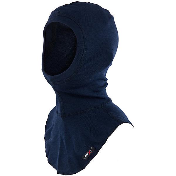 Шапка-шлем LynxyГоловные уборы<br>Характеристики товара:<br><br>• цвет: синий<br>• состав ткани: 95% полиэстер, 5% вискоза <br>• подкладка: нет<br>• сезон: зима<br>• температурный режим: от -30 до 0<br>• страна бренда: Россия<br>• страна изготовитель: Россия<br><br>Практичная шапка-шлем для детей - удобная деталь для создания ребенку комфортных условий. Эта шапка-шлем для ребенка сделана из инновационной ткани Trevira, мягкой и приятной на ощупь. Детская шапка-шлем стильно смотрится и удобно сидит. <br><br>Шапку-шлем Lynxy (Линкси) можно купить в нашем интернет-магазине.<br>Ширина мм: 89; Глубина мм: 117; Высота мм: 44; Вес г: 155; Цвет: синий; Возраст от месяцев: 144; Возраст до месяцев: 180; Пол: Мужской; Возраст: Детский; Размер: 56,52,54; SKU: 4971233;