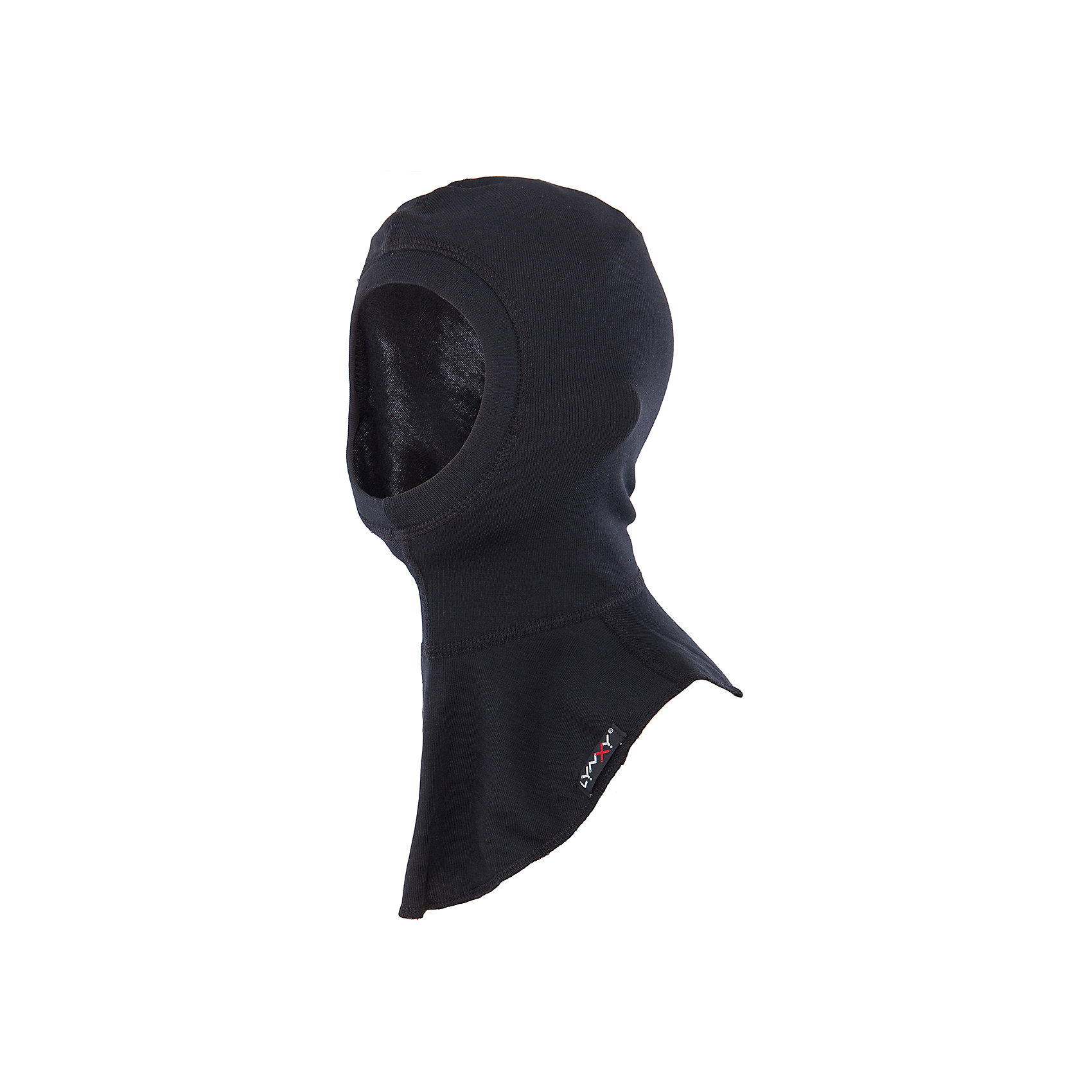 Шапка-шлем LynxyШапка-шлем от известного бренда Lynxy.<br>Детский подшлемник выполнен из мягкого термополотна Trevira с микроначесом с изнаночной стороны. Благодаря эластичному и мягкому полотну приятно к телу, плоские швы и эргономические лекала обеспечивают комфортное прилегание изделия. Идеально сохраняет тепло и выводит влагу, позволяя коже оставаться сухой. Благодаря присутствию ионов серебра в структуре полотна, имеет противомикробные свойства. Идеально подходит для длительных прогулок и активных занятий спортом в холодное время года до - 30 градусов. Рекомендуется деликатная машинная стирка при температуре 40 градусов без предварительного замачивания.<br>Состав:<br>полиэстер 95%, вискоза 5%<br><br>Ширина мм: 89<br>Глубина мм: 117<br>Высота мм: 44<br>Вес г: 155<br>Цвет: черный<br>Возраст от месяцев: 60<br>Возраст до месяцев: 120<br>Пол: Мужской<br>Возраст: Детский<br>Размер: 54,52,56<br>SKU: 4971241