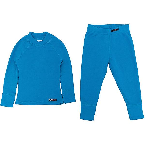 Комплект термобелья LynxyФлис и термобелье<br>Характеристики товара:<br><br>• цвет: синий<br>• комплектация: лонгслив и рейтузы<br>• состав ткани: 95% полиэстер, 5% вискоза <br>• подкладка: нет<br>• сезон: зима<br>• температурный режим: от -30 до 0<br>• пояс: резинка<br>• длинные рукава<br>• страна бренда: Россия<br>• страна изготовитель: Россия<br><br>Такое термобелье для детей можно надевать как нижний слой в морозы. Качественный материал комплекта термобелья для детей позволяет коже дышать и впитывает лишнюю влагу. Ткань Trevira с микроначесом приятна на ощупь. Детский комплект термобелья состоит из лонгслива и рейтуз.<br><br>Комплект термобелья Lynxy (Линкси) можно купить в нашем интернет-магазине.<br><br>Ширина мм: 123<br>Глубина мм: 10<br>Высота мм: 149<br>Вес г: 209<br>Цвет: бирюзовый<br>Возраст от месяцев: 24<br>Возраст до месяцев: 36<br>Пол: Мужской<br>Возраст: Детский<br>Размер: 98,86,158,152,146,140,134,128,122,116,110,104,92<br>SKU: 4971527