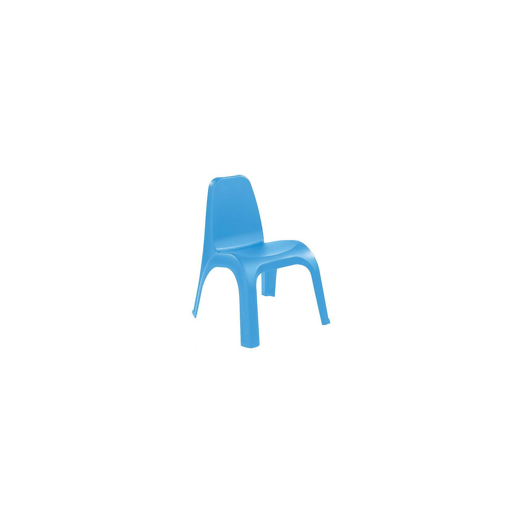 Пластишка Стул 380х425х525 мм, Пластишка, голубой пластишка нагрудник пластишка