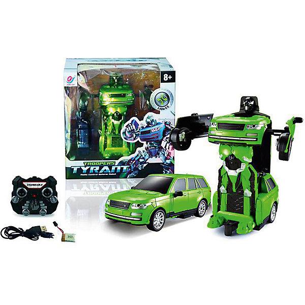 Робот-трансформер на р/у в наборе с аккумуляторной батареей, звуковые и световые эффектыРоботы-игрушки<br>Какой мальчишка не любит трансформеров! Этот робот-трансформер на радиоуправлении порадует ребенка еще и световыми эффектами, а также звуковыми. Он умеет превращаться в автомобиль! С ним можно придумать множество игр! Такие игрушки помогают детям развивать мелкую моторику, цветовосприятие, умение логически размышлять, внимание, звуковосприятие и многое другое.<br>Трансформер произведен из материалов высокого качества, которые безопасны для малышей. Игра с ним может надолго занять ребенка!<br><br>Дополнительная информация:<br><br>цвет: разноцветный;<br>материал: пластик:<br>комплектация: робот-трансформер, аккумуляторная батарея;<br>размер: 24 x 18 x 24 см.<br><br>Робота-трансформер на р/у в наборе с аккумуляторной батареей, звуковые и световые эффекты можно купить в нашем магазине.<br>Ширина мм: 300; Глубина мм: 330; Высота мм: 210; Вес г: 9999; Возраст от месяцев: 36; Возраст до месяцев: 2147483647; Пол: Мужской; Возраст: Детский; SKU: 4972227;