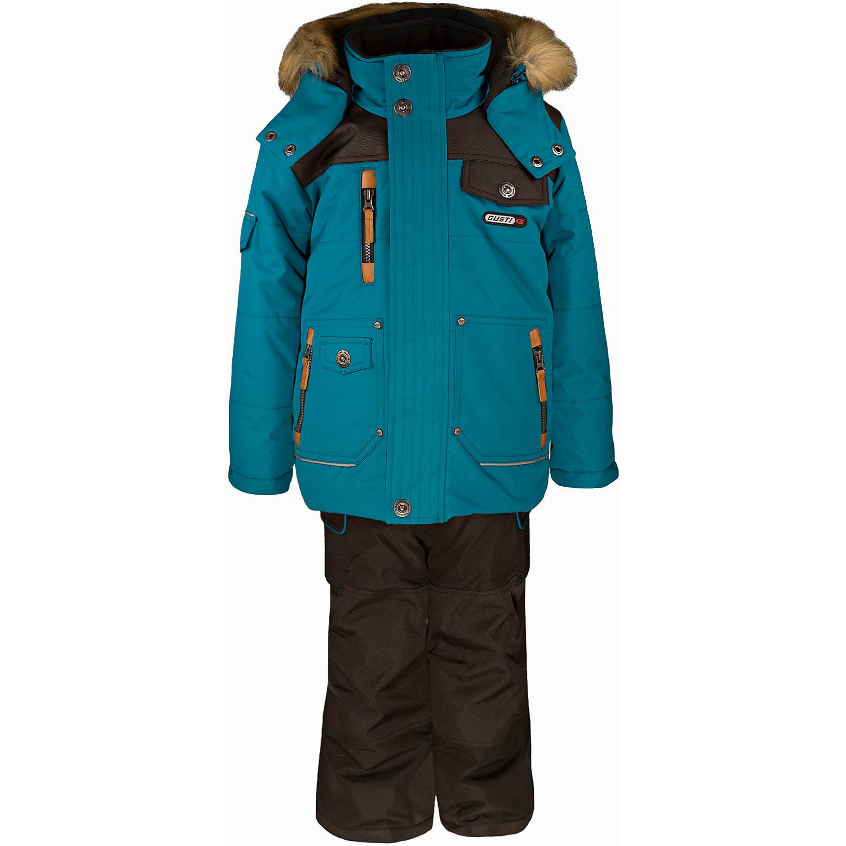 Gusti Комплект: куртка и полукомбинезон GUSTI куртка утепленная gusti gusti gu018ebwsz38