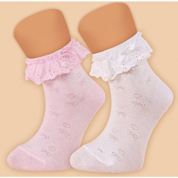 Носки для девочки  GlamurikiНоски<br>Характеристики:<br><br>• Вид одежды: чулочно-носочные изделия<br>• Сезон: круглый год<br>• Пол: для девочки<br>• Цвет: розовый<br>• Коллекция: Классик<br>• Материал: лайкра – 2%, нейлон – 25%, хлопок – 73%<br>• Уход: ручная стирка<br><br>Носки для девочки  Glamuriki изготовлены по итальянской технологии из трикотажа высокого качества, в состав которого входит лайкра, нейлон и хлопок. Такое сочетание обеспечивает прочность, эластичность и хорошую посадку на ноге.  Изделие полностью гипоаллергенно. Носки выполнены ажурной вязкой розового цвета, на резинке имеется оборка из хлопка с шитьем и узкий бантик. Такие носочки дополнят праздничный образ вашей девочки и станут ярким аксессуаром детского гардероба.  <br><br>Носки для девочки  Glamuriki можно купить в нашем интернет-магазине.<br><br>Подробнее:<br>Номер товара: 4973193<br>Страна производитель: Китай<br>Ширина мм: 87; Глубина мм: 10; Высота мм: 105; Вес г: 115; Цвет: розовый; Возраст от месяцев: 24; Возраст до месяцев: 36; Пол: Женский; Возраст: Детский; Размер: 24-26,28-30; SKU: 4973193;