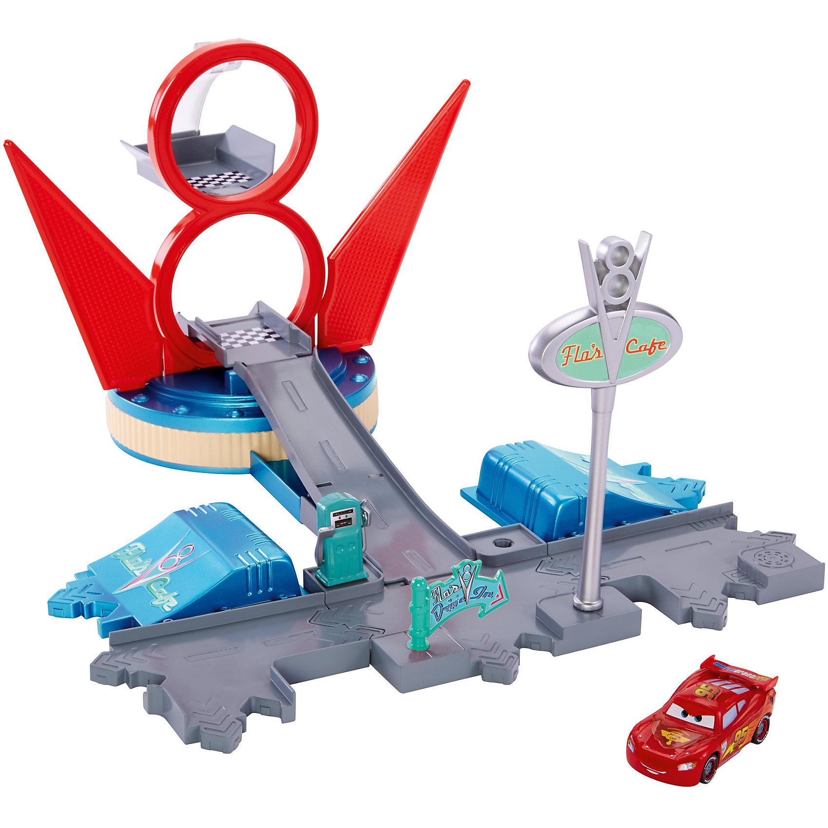 Маленький игровой набор, ТачкиАвтотреки<br>Известная торговая марка Mattel представляет игровой набор Тачки Story Sets. Все маленькие любители гонок и спортивных автомобилей по достоинству оценят этот замечательный игровой набор. Ребенку предлагается самостоятельно собрать трек для проведения гонок и начать соревнования. Трек представляет собой множество дорожных путей, а также различные строения и сооружения.Яркие и красочные цвета игрушек и отличное качество материалов, использованных для создания элементов трека и машинки, несомненно привлекут внимание ребенка.<br> <br>В товар входит:<br>-элементы для сборки трека<br>-машинка<br><br>Дополнительная информация:<br>-Цвет: серый,красный,голубой<br>-Возраст: от 4 лет<br>-Для мальчиков<br>-Материал: металл,пластик<br>-Упаковка:картонная коробка<br>-Бренд: Mattel<br><br>Ширина мм: 255<br>Глубина мм: 255<br>Высота мм: 70<br>Вес г: 585<br>Возраст от месяцев: 48<br>Возраст до месяцев: 120<br>Пол: Мужской<br>Возраст: Детский<br>SKU: 4973442