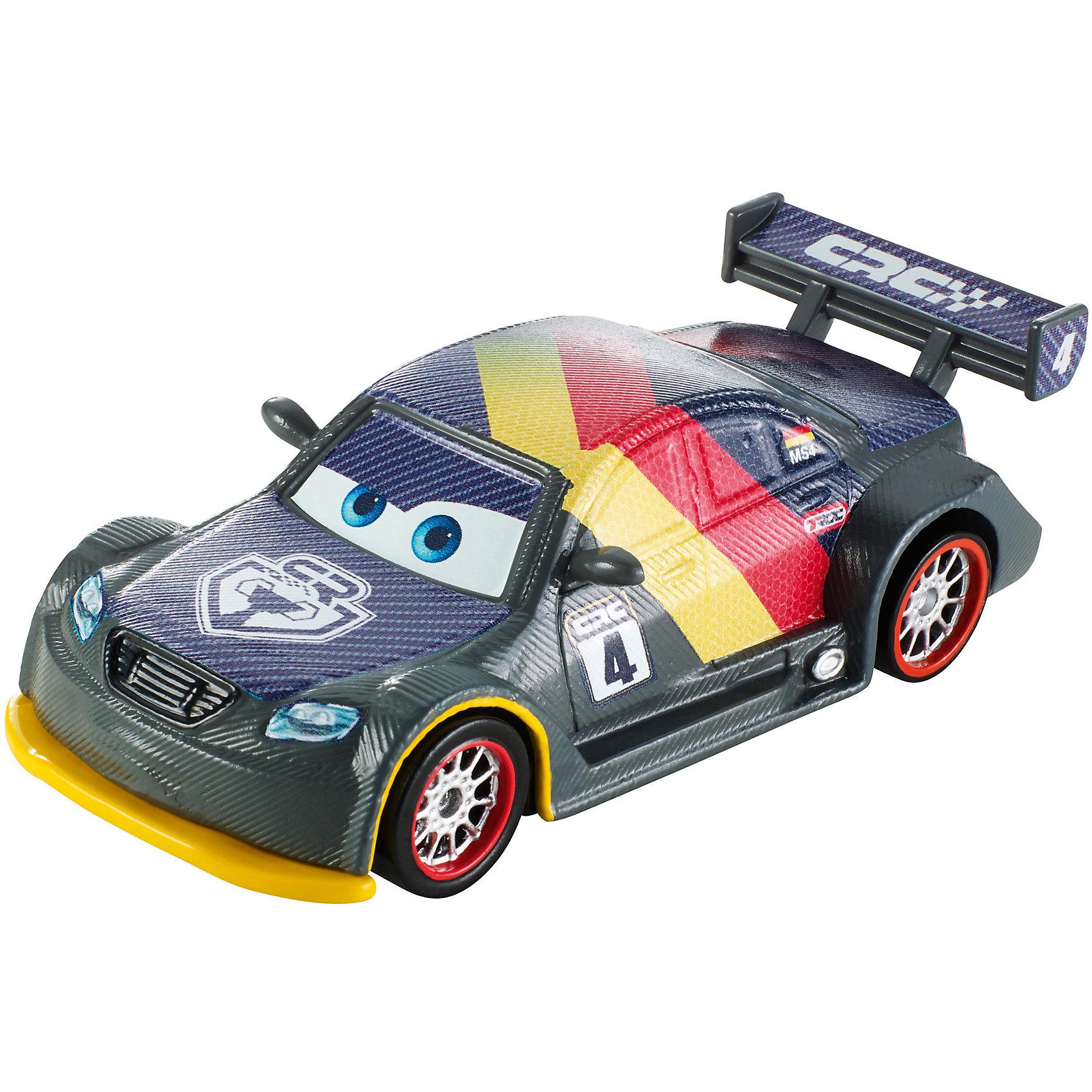 Карбоновый гонщик, ТачкиТачки Игрушки<br>Игрушечная машинка Тачки: Карбоновый гонщик от Mattel представляет собой гоночный автомобиль, который исполнен по мотивам известного и любимого многими детьми диснеевского мультика Тачки. Эта игрушка станет прекрасным подарком для любого мальчика. Играть с ней можно повсюду. А также будет интересно придумывать свои истории тачек.<br>В товар входит:<br>-машинка<br><br>Дополнительная информация:<br>-Цвет: серый,жёлтый,красный<br>-Возраст: от 3 лет<br>-Для мальчиков<br>-Материал: металл,пластик<br>-Упаковка: блистер на картоне<br>-Бренд: Mattel<br><br>Ширина мм: 45<br>Глубина мм: 140<br>Высота мм: 165<br>Вес г: 83<br>Возраст от месяцев: 36<br>Возраст до месяцев: 120<br>Пол: Мужской<br>Возраст: Детский<br>SKU: 4973450