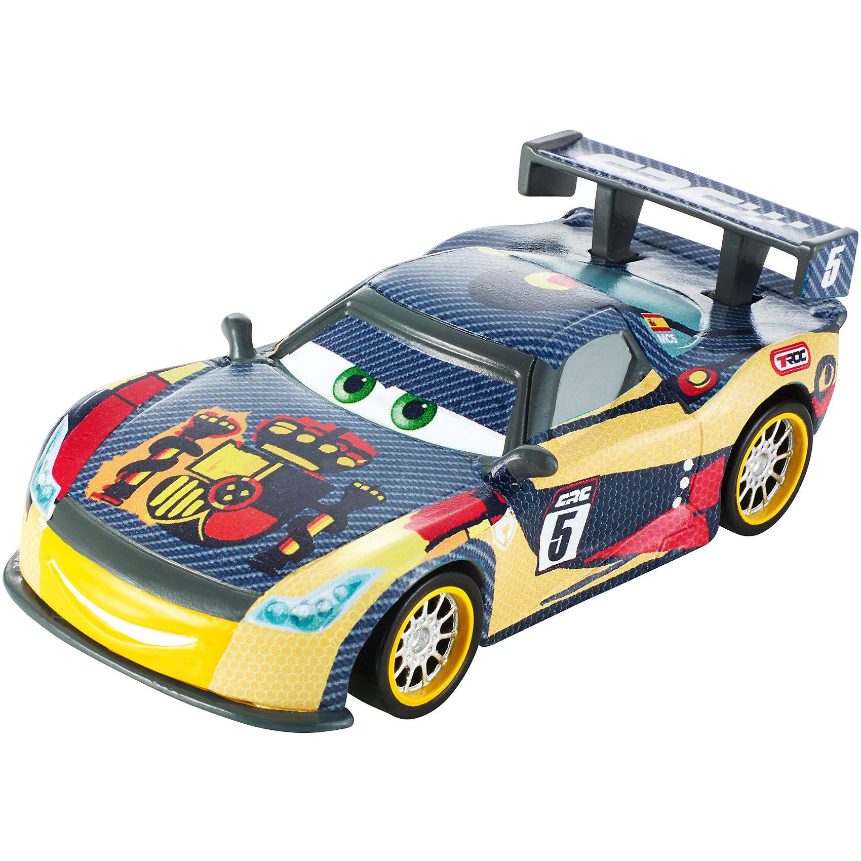 Карбоновый гонщик, ТачкиИгрушечная машинка Тачки: Карбоновый гонщик от Mattel представляет собой гоночный автомобиль, который исполнен по мотивам известного и любимого многими детьми диснеевского мультика Тачки. Эта игрушка станет прекрасным подарком для любого мальчика. Играть с ней можно повсюду. А также будет интересно придумывать свои истории тачек.<br>В товар входит:<br>-машинка<br><br>Дополнительная информация:<br>-Цвет: жёлтый,красный,серый<br>-Возраст: от 3 лет<br>-Для мальчиков<br>-Материал: металл,пластик<br>-Упаковка: блистер на картоне<br>-Бренд: Mattel<br><br>Ширина мм: 45<br>Глубина мм: 140<br>Высота мм: 165<br>Вес г: 83<br>Возраст от месяцев: 36<br>Возраст до месяцев: 120<br>Пол: Мужской<br>Возраст: Детский<br>SKU: 4973451