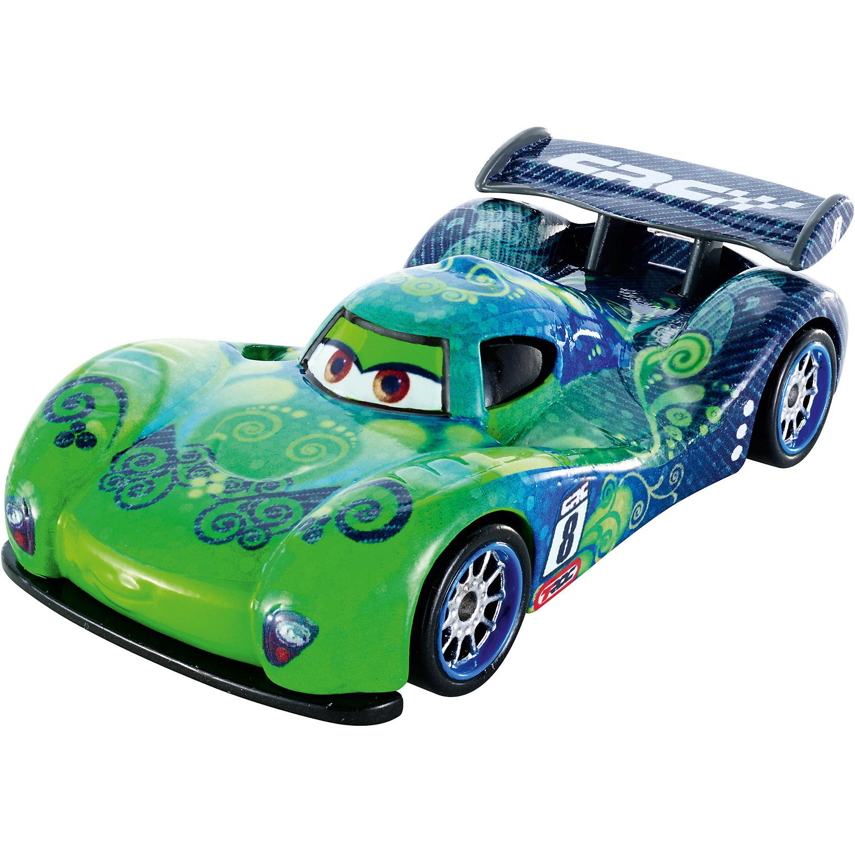 Карбоновый гонщик, ТачкиИгрушечная машинка Тачки: Карбоновый гонщик от Mattel представляет собой гоночный автомобиль, который исполнен по мотивам известного и любимого многими детьми диснеевского мультика Тачки. Эта игрушка станет прекрасным подарком для любого мальчика. Играть с ней можно повсюду. А также будет интересно придумывать свои истории тачек.<br>В товар входит:<br>-машинка<br><br>Дополнительная информация:<br>-Цвет: синий,зелёный<br>-Возраст: от 3 лет<br>-Для мальчиков<br>-Материал: металл,пластик<br>-Упаковка: блистер на картоне<br>-Бренд: Mattel<br><br>Ширина мм: 45<br>Глубина мм: 140<br>Высота мм: 165<br>Вес г: 83<br>Возраст от месяцев: 36<br>Возраст до месяцев: 120<br>Пол: Мужской<br>Возраст: Детский<br>SKU: 4973455
