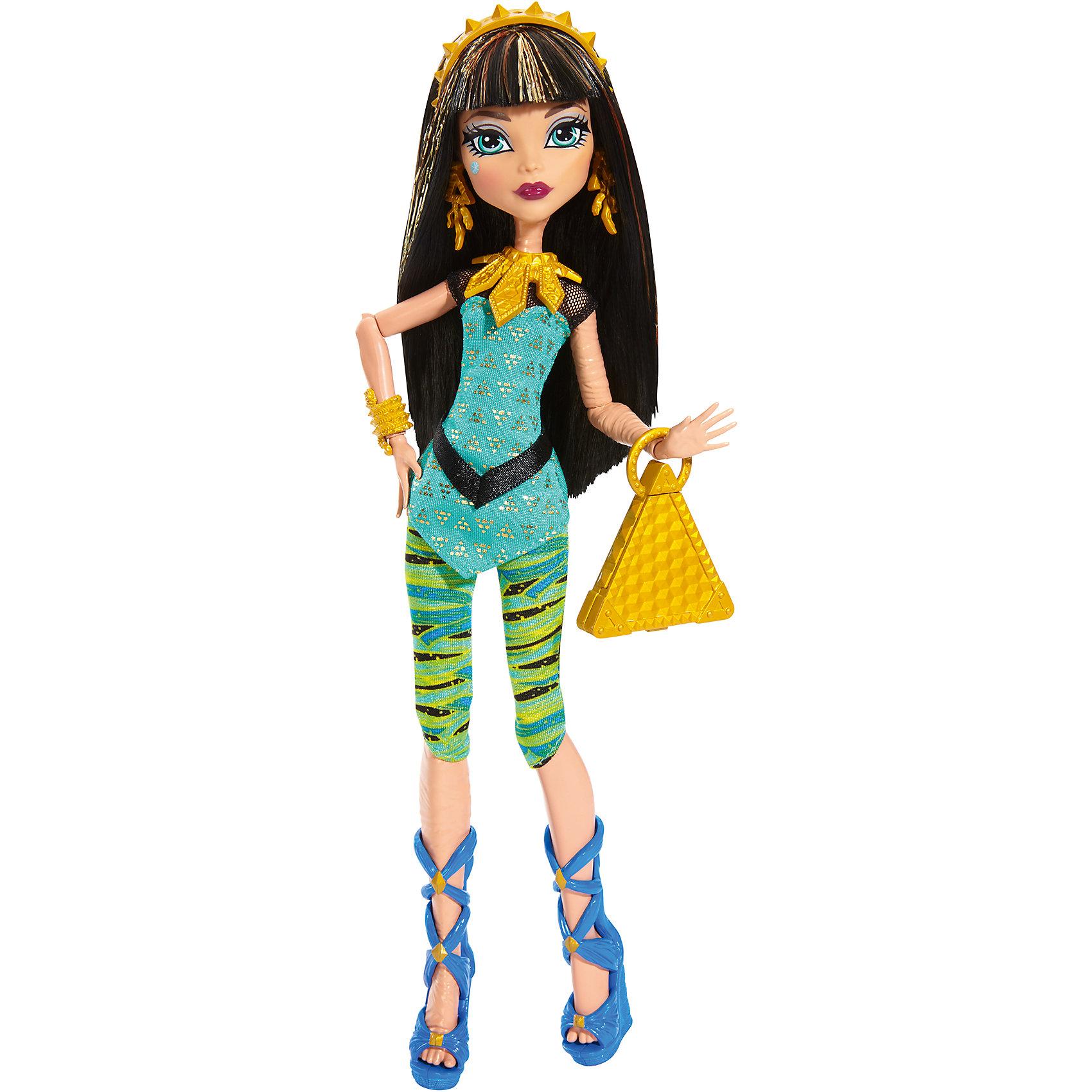 Кукла в модном наряде, Monster HighБренды кукол<br>Кукла в новом наряде  имеет уникальный наряд со съемными аксессуарами: ожерельем,сумочкой,туфлями. Благодаря этому, ребёнок сможет создать не один образ для куклы. С ней девочка придумает собственную фантастическую историю о куклах-монстрах. Необычность куклы развивает фантазию ребенка, а так же игра с ней подарит море положительных эмоций. <br>В товар входит:<br>-кукла<br>-аксессуары<br><br>Дополнительная информация:<br>-Размер упаковки:33 х 15 х6<br>-Вес:258 г<br>-Состав: текстиль, пластмасса<br>-Для девочек от 6 лет<br>-Марка: Mattel<br><br>Ширина мм: 339<br>Глубина мм: 154<br>Высота мм: 66<br>Вес г: 187<br>Возраст от месяцев: 72<br>Возраст до месяцев: 120<br>Пол: Женский<br>Возраст: Детский<br>SKU: 4973466