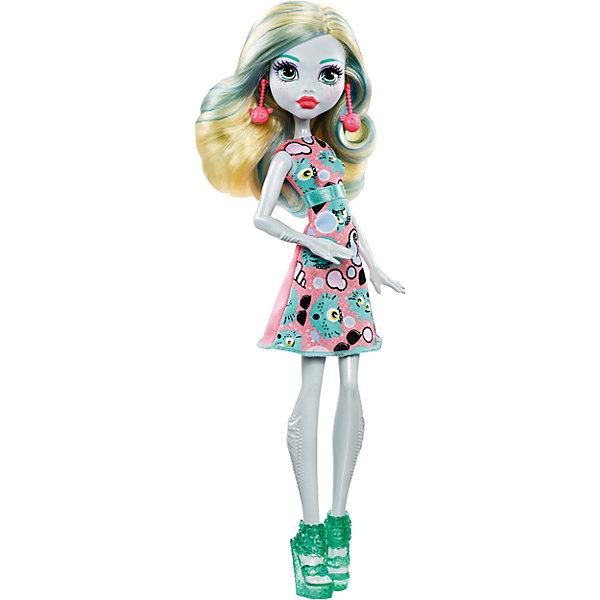 Кукла, Monster HighКуклы<br>Юная леди Лагуна Блю из серии Emoji потрясающе выглядит в своем новом образе. Кукла одета в нежное розовое платье с голубым поясом и приятным рисунком. На ножках красуются полупрозрачные изумрудные туфельки. Элегантный образ Лагуны прекрасно дополняют серьги со смайликами. Плечи, бедра и голова куклы подвижны. Очаровательная Лагуна Блю станет лучшим подарком любительницам смайлов и мультфильма Monster High!<br><br>Дополнительная информация:<br>Материал: пластик, текстиль<br><br>Куклу Лагуна Блю(Monster High) вы можете приобрести в нашем интернет-магазине.<br>Ширина мм: 333; Глубина мм: 106; Высота мм: 60; Вес г: 172; Возраст от месяцев: 72; Возраст до месяцев: 120; Пол: Женский; Возраст: Детский; SKU: 4973474;