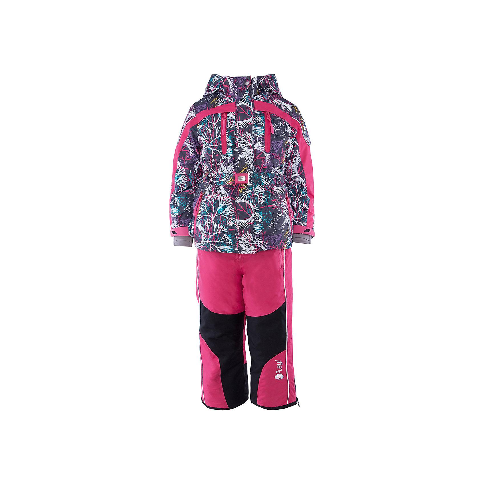 Компект: куртка и полукомбинезон для девочки atPlay!Верхняя одежда<br>С наступлением холодного сезона необходимо особенно тщательно подходить к подбору одежды для ребенка. Чтобы обеспечить ему тепло, сухость и комфорт, можно выбрать этот костюм, сшитый из мембранного материала.<br>Он позволяет коже дышать, помогает выводить лишнюю влагу, при этом не позволяет ребенку замерзнуть или промокнуть. Выглядит при этом модель очень симпатично! Изделие выполнено очень качественно. Фурнитура для него подбиралась с учетом особенностей детского организма. В комплекте идет курточка и полукомбинезон.<br><br>Дополнительная информация:<br><br>цвет: розовый;<br>материал: полиэстер, фурнитура YKK, водо- и грязеотталкивающее покрытие Teflon, нижний комбинезон - флис;<br>утеплитель: Thinsulate 150 г;<br>температурный режим: от -25° С до +5° С;<br>мягкие элементы на капюшоне и воротнике;<br>паропроницаемость: 10000 г / м.куб. / 24 ч;<br>водонепроницаемость: 10000 мм / 24 ч;<br>швы проклеены;<br>капюшон регулируется.<br><br>Костюм для девочки от бренда atPlay! можно приобрести в нашем интернет-магазине.<br><br>Ширина мм: 356<br>Глубина мм: 10<br>Высота мм: 245<br>Вес г: 519<br>Цвет: розовый<br>Возраст от месяцев: 36<br>Возраст до месяцев: 48<br>Пол: Женский<br>Возраст: Детский<br>Размер: 104,128,110,116,122<br>SKU: 4973809