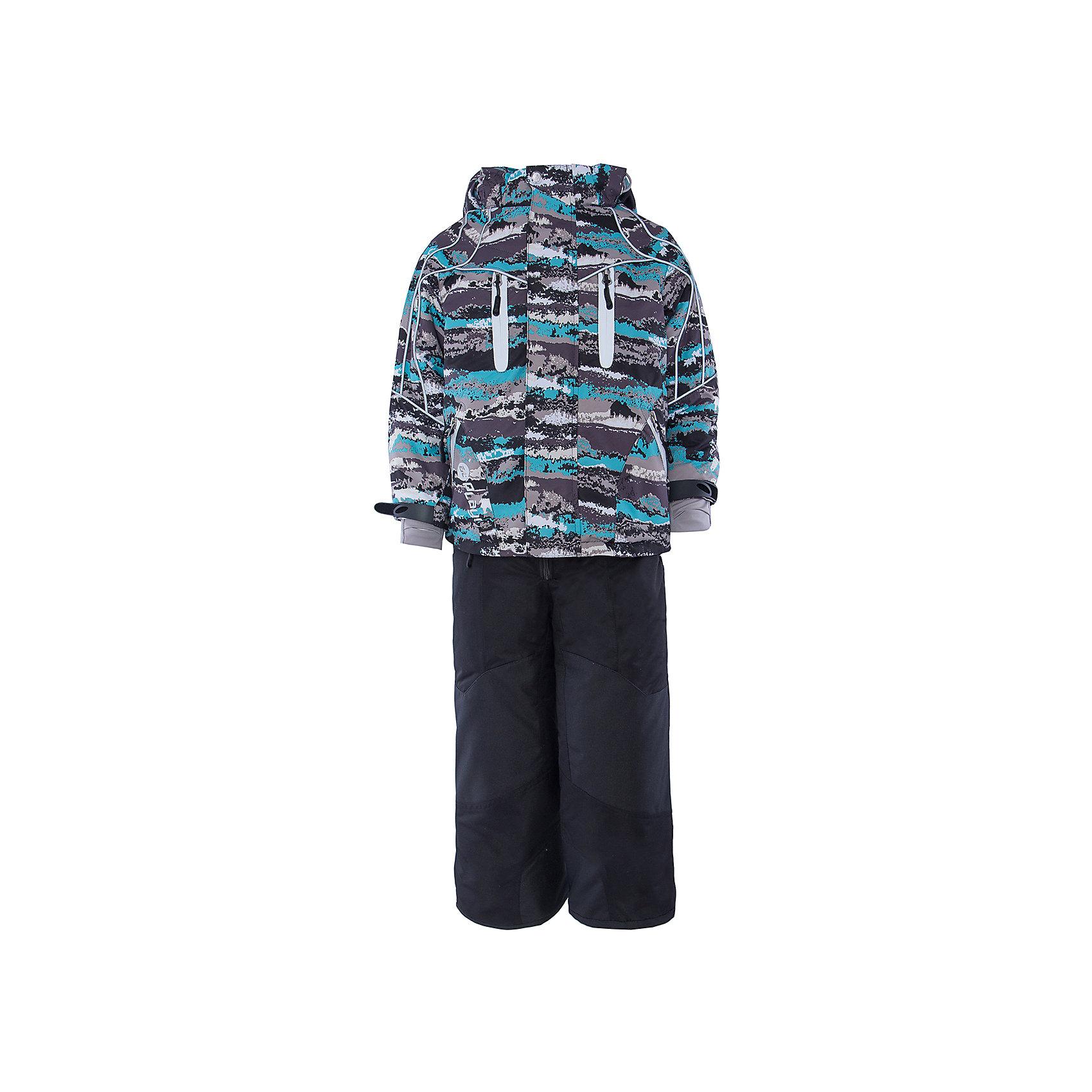 Комплект: куртка и полукомбинезон для мальчика atPlay!В холода необходимо особенно тщательно подходить к подбору одежды для ребенка. Чтобы обеспечить ему тепло, сухость и комфорт, можно выбрать этот костюм, сшитый из мембранного материала.<br>Он позволяет коже дышать, помогает выводить лишнюю влагу, при этом не позволяет ребенку замерзнуть или промокнуть. Выглядит при этом модель очень симпатично! Изделие выполнено очень качественно. Фурнитура для него подбиралась с учетом особенностей детского организма. В комплекте идет курточка и полукомбинезон.<br><br><br>Дополнительная информация:<br><br>цвет: серый, голубой;<br>материал: полиэстер, фурнитура YKK, водо- и грязеотталкивающее покрытие Teflon, нижний комбинезон - флис;<br>утеплитель: Thinsulate 150 г;<br>температурный режим: от -25° С до +5° С;<br>мягкие элементы на капюшоне и воротнике;<br>паропроницаемость: 10000 г / м.куб. / 24 ч;<br>водонепроницаемость: 10000 мм / 24 ч;<br>швы проклеены;<br>капюшон регулируется.<br><br>Костюм для мальчика от бренда atPlay! можно приобрести в нашем интернет-магазине.<br><br>Ширина мм: 356<br>Глубина мм: 10<br>Высота мм: 245<br>Вес г: 519<br>Цвет: серый/голубой<br>Возраст от месяцев: 36<br>Возраст до месяцев: 48<br>Пол: Мужской<br>Возраст: Детский<br>Размер: 116,110,104,128,122<br>SKU: 4973812