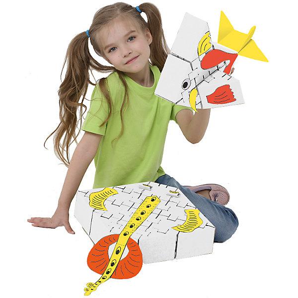 Конструктор Морские рыбки, белый, YohocubeКартонные конструкторы<br>Дети, которые любят творчество, обязательно оценят этот конструктор! В него включены заготовки для создания морских рыбок и стикеры для их украшения. Картонные фигурки можно раскрасить самому - такая игра никогда не надоест!<br>Фигурки собираются без помощи клея. В набор входят 26 деталей. В этих фигурках малыши потом могут хранить свои ценные мелочи! Игры с таким комплектом помогут ребенку развивать воображение, мелкую моторику и творческое мышление! Игрушка сделана из высококачественных и безопасных для детей материалов.<br><br>Дополнительная информация:<br><br>цвет: белый;<br>материал: картон;<br>комплектация: 26 деталей, стикеры;<br>размер кубика: 8 см.<br><br>Конструктор Морские рыбки от бренда Yohocube можно купить в нашем магазине.<br>Ширина мм: 460; Глубина мм: 360; Высота мм: 20; Вес г: 500; Возраст от месяцев: 72; Возраст до месяцев: 144; Пол: Унисекс; Возраст: Детский; SKU: 4974275;