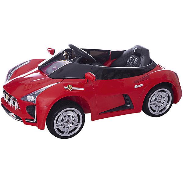 Электромобиль Sport-Car, красный, BabyHitЭлектромобили<br>Любой ребенок придет в восторг от такого стильного автомобиля! Большие мягкие полиуретановые колеса обеспечат плавный ход. Два электродвигателя позволяют развивать скорость до 5 км/час. Звуковые и световые эффекты сделают прогулки веселыми и яркими. Двери машины открываются. Пульт дистанционного управления позволяет родителям не беспокоиться, что их юный автолюбитель уедет от них.<br>Электромобиль Sport-Car прекрасно детализирован, выглядит как настоящий. <br>Позвольте вашему ребенку ощутить себя опытным водителем собственного роскошного спортивного автомобиля! <br><br>Дополнительная информация:<br><br>- Материал: пластик, металл, полиуретан. <br>- Размер: 116 х 62 х 50 см.<br>- Вес автомобиля: 16,5 кг.<br>- Максимальный вес ребенка: 35 кг.<br>- Максимальная скорость 5 км/ч. <br>- Двери открываются.<br>- Звуковые и световые эффекты, МP3.<br>- Для детей в возрасте от 3-х до 8 лет.<br>- Два редуктора/электродвигателя (мощностью 25 Вт каждый).<br>- Два аккумулятора 6В/7Ач.<br>- Пульт дистанционного управления (Bluetooth).<br><br>Электромобиль Sport-Car, красный, BabyHit (Беби Хит), можно купить в нашем магазине.<br>Ширина мм: 1160; Глубина мм: 620; Высота мм: 500; Вес г: 20000; Возраст от месяцев: 24; Возраст до месяцев: 84; Пол: Унисекс; Возраст: Детский; SKU: 4974815;