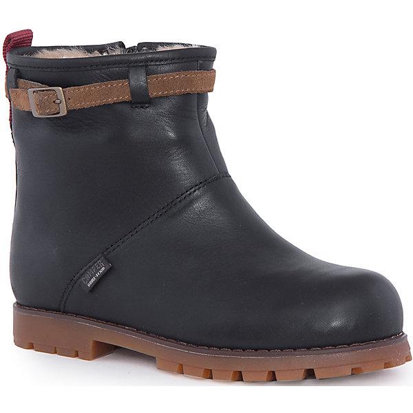 Сапоги для девочки CamperСапоги<br>Характеристики:<br><br>• Предназначение: повседневная обувь<br>• Сезон: демисезонные<br>• Пол: для девочки<br>• Цвет: черный, коричневый<br>• Материал верха и стельки: натуральная кожа<br>• Материал подошвы: резина<br>• Тип каблука и подошвы: каблук венский, рифленая подошва<br>• Тип застежки: замок-молния боковая<br>• Уход: удаление загрязнений мягкой тканью<br><br>Полусапоги для девочки изготовлены испанским торговым брендом, специализирующимся на производстве обуви премиум-класса. Детская обувь Camper учитывает анатомические особенности детской растущей ноги, поэтому она изготавливается исключительно из натуральной кожи. Ботинки выполнены из гладкой кожи, все элементы верха прошиты, имеется ортопедическая стелька. Эта модель ботинок выполнена с повышенными влагостойкими и антискользящими свойствами, а также с дополнительным внутренним утеплением из меха. Полусапоги выполнены в дизайне детской линии от Camper – Compas, которая отличается классическим стилем и яркими атрибутами, высокой прочностью, износостойкостью, но при этом легким весом и гибкостью. <br><br>Полусапоги для девочки Camper можно купить в нашем интернет-магазине.<br>Ширина мм: 257; Глубина мм: 180; Высота мм: 130; Вес г: 420; Цвет: черный; Возраст от месяцев: 156; Возраст до месяцев: 168; Пол: Женский; Возраст: Детский; Размер: 37,32,33,31,34,35,38,36; SKU: 4974934;