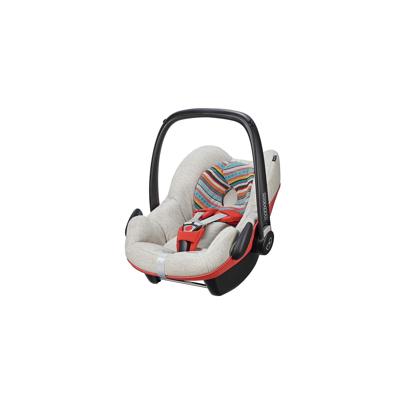Автокресло Maxi-Cosi Pebble 0-13 кг, Folkloric RedГруппа 0+ (До 13 кг)<br>Прекрасное кресло для самых маленьких деток! Автокресло прекрасно подойдет для малышей от 0 до 15 месяцев. Кресло крепиться штатными ремнями безопасности против хода движения, так же кресло имеет специальную ногу-опору, которая не дает ему перевернуться. Внутри сидения есть регулируемые трех точечные ремни безопасности, а еще есть дополнительная подушечка, которая размещается под головой и спинкой ребенка.<br><br>Дополнительная информация:<br><br>- Возраст: с рождения до 15 месяцев. ( от 0 до 13 кг.)<br>- Цвет: Folkloric Red.<br>- Размер: 73x46x52 см. <br>- Общий вес: 4 кг.<br><br>Купить автокресло Pebble (0-13 кг.) в цвете Folkloric Red, можно в нашем магазине.<br><br>Ширина мм: 445<br>Глубина мм: 375<br>Высота мм: 725<br>Вес г: 3300<br>Возраст от месяцев: 0<br>Возраст до месяцев: 12<br>Пол: Унисекс<br>Возраст: Детский<br>SKU: 4975087