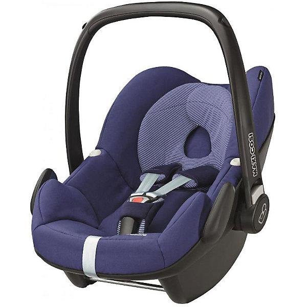 Автокресло Maxi-Cosi Pebble 0-13 кг, River BlueГруппа 0+  (до 13 кг)<br>Прекрасное кресло для самых маленьких деток! Автокресло прекрасно подойдет для малышей от 0 до 15 месяцев. Кресло крепиться штатными ремнями безопасности против хода движения, так же кресло имеет специальную ногу-опору, которая не дает ему перевернуться. Внутри сидения есть регулируемые трех точечные ремни безопасности, а еще есть дополнительная подушечка, которая размещается под головой и спинкой ребенка.<br><br>Дополнительная информация:<br><br>- Возраст: с рождения до 15 месяцев. ( от 0 до 13 кг.)<br>- Цвет: River Blue.<br>- Размер: 73x46x52 см. <br>- Общий вес: 4 кг.<br><br>Купить автокресло Pebble (0-13 кг.) в цвете River Blue, можно в нашем магазине.<br>Ширина мм: 445; Глубина мм: 375; Высота мм: 725; Вес г: 3300; Возраст от месяцев: 0; Возраст до месяцев: 12; Пол: Унисекс; Возраст: Детский; SKU: 4975088;