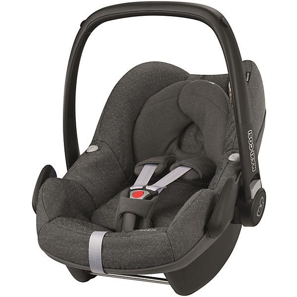 Автокресло Maxi-Cosi Pebble 0-13 кг, Sparkling GreyГруппа 0+  (до 13 кг)<br>Прекрасное кресло для самых маленьких деток! Автокресло прекрасно подойдет для малышей от 0 до 15 месяцев. Кресло крепиться штатными ремнями безопасности против хода движения, так же кресло имеет специальную ногу-опору, которая не дает ему перевернуться. Внутри сидения есть регулируемые трех точечные ремни безопасности, а еще есть дополнительная подушечка, которая размещается под головой и спинкой ребенка.<br><br>Дополнительная информация:<br><br>- Возраст: с рождения до 15 месяцев. ( от 0 до 13 кг.)<br>- Цвет: Sparkling Grey.<br>- Размер: 73x46x52 см. <br>- Общий вес: 4 кг.<br><br>Купить автокресло Pebble (0-13 кг.) в цвете Sparkling Grey, можно в нашем магазине.<br><br>Ширина мм: 445<br>Глубина мм: 375<br>Высота мм: 725<br>Вес г: 3300<br>Возраст от месяцев: 0<br>Возраст до месяцев: 12<br>Пол: Унисекс<br>Возраст: Детский<br>SKU: 4975089