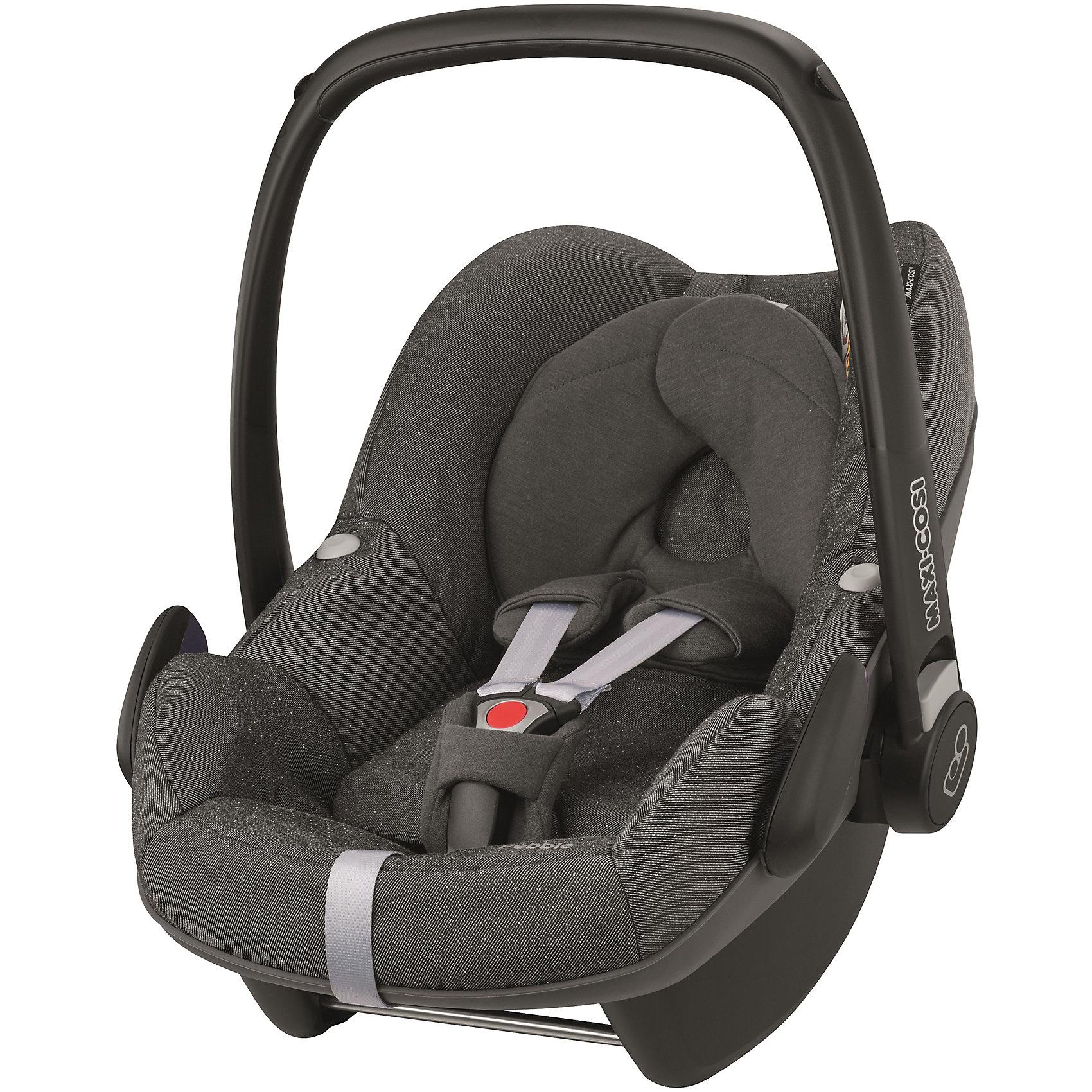 Автокресло Pebble 0-13 кг., Maxi-Cosi, Sparkling GreyПрекрасное кресло для самых маленьких деток! Автокресло прекрасно подойдет для малышей от 0 до 15 месяцев. Кресло крепиться штатными ремнями безопасности против хода движения, так же кресло имеет специальную ногу-опору, которая не дает ему перевернуться. Внутри сидения есть регулируемые трех точечные ремни безопасности, а еще есть дополнительная подушечка, которая размещается под головой и спинкой ребенка.<br><br>Дополнительная информация:<br><br>- Возраст: с рождения до 15 месяцев. ( от 0 до 13 кг.)<br>- Цвет: Sparkling Grey.<br>- Размер: 73x46x52 см. <br>- Общий вес: 4 кг.<br><br>Купить автокресло Pebble (0-13 кг.) в цвете Sparkling Grey, можно в нашем магазине.<br><br>Ширина мм: 445<br>Глубина мм: 375<br>Высота мм: 725<br>Вес г: 3300<br>Возраст от месяцев: 0<br>Возраст до месяцев: 12<br>Пол: Унисекс<br>Возраст: Детский<br>SKU: 4975089