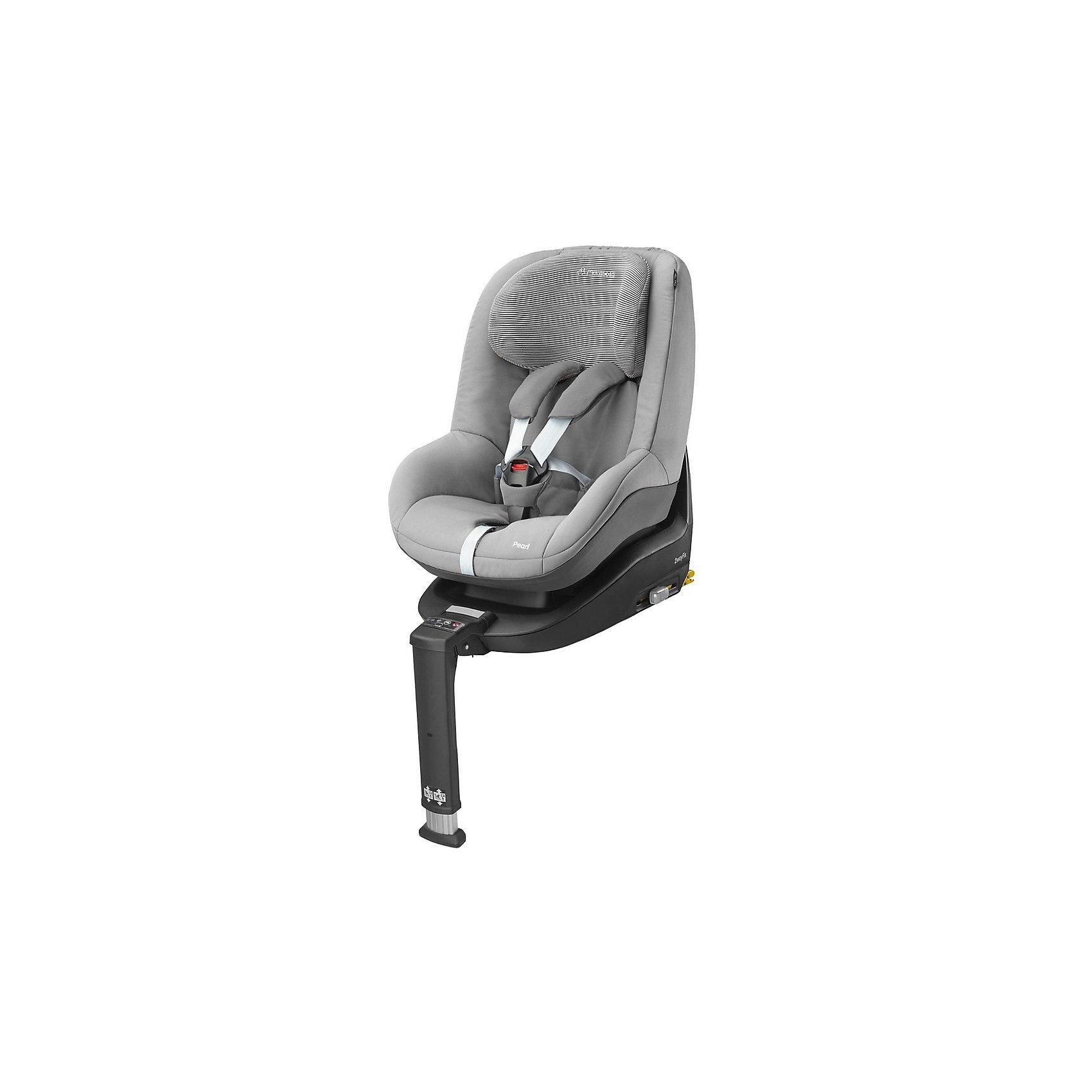 Автокресло Pearl 9-18 кг., Maxi-Cosi, Concrete GreyMaxi-Cosi Pearl - это невероятно удобное, простое в установке и эксплуатации автокресло, будет прекрасным сюрпризом для Вас и Вашего малыша. Ребенок будет чувствовать себя комфортно даже в самых дальних поездках, а Вам не придется переживать о его безопасности.<br>Автокресло рассчитано для детей от 9 месяцев до 4 лет. Так же, имеет пяти точечный ремень безопасности и подголовник оснащенной мягкой ортопедической вставкой.<br><br>Особенности:<br>- Автокресло крепится только при помощи базы FamilyFix (приобретается отдельно) одним движением.<br>- Устанавливается кресло по ходу движения автомобиля на заднее сиденье.<br>- Пяти точечный ремень безопасности.<br>- Отпрыгивающие ремешки для легкой посадки ребенка.<br>- Централизованная система натяжения ремней.<br>- 5 положений наклона спинки сидения. <br>- Кресло оснащено дополнительной защитой в области шеи и головы ребенка, что обеспечивает максимальную безопасность при поворотах или во время аварии.<br>- Высота подголовника может фиксироваться в 7 положениях.<br>- Можно снять и постирать в стиральной машине (на бережном режиме) или вручную (при температуре воды 30 градусов).<br><br>Дополнительная информация:<br><br>- Возраст: от 9 месяцев до 4 лет. ( от 9 до 18 кг.)<br>- Цвет: Concrete Grey.<br>- Материал: пластмасса, текстиль.<br>- Размер: 53х45х61 см.<br>- Вес в упаковке: 6 кг.<br><br>Купить автокресло Pearl (9-18 кг.) в цвете Concrete Grey, можно в нашем магазине.<br><br>Ширина мм: 475<br>Глубина мм: 595<br>Высота мм: 610<br>Вес г: 7250<br>Возраст от месяцев: 4<br>Возраст до месяцев: 48<br>Пол: Унисекс<br>Возраст: Детский<br>SKU: 4975099