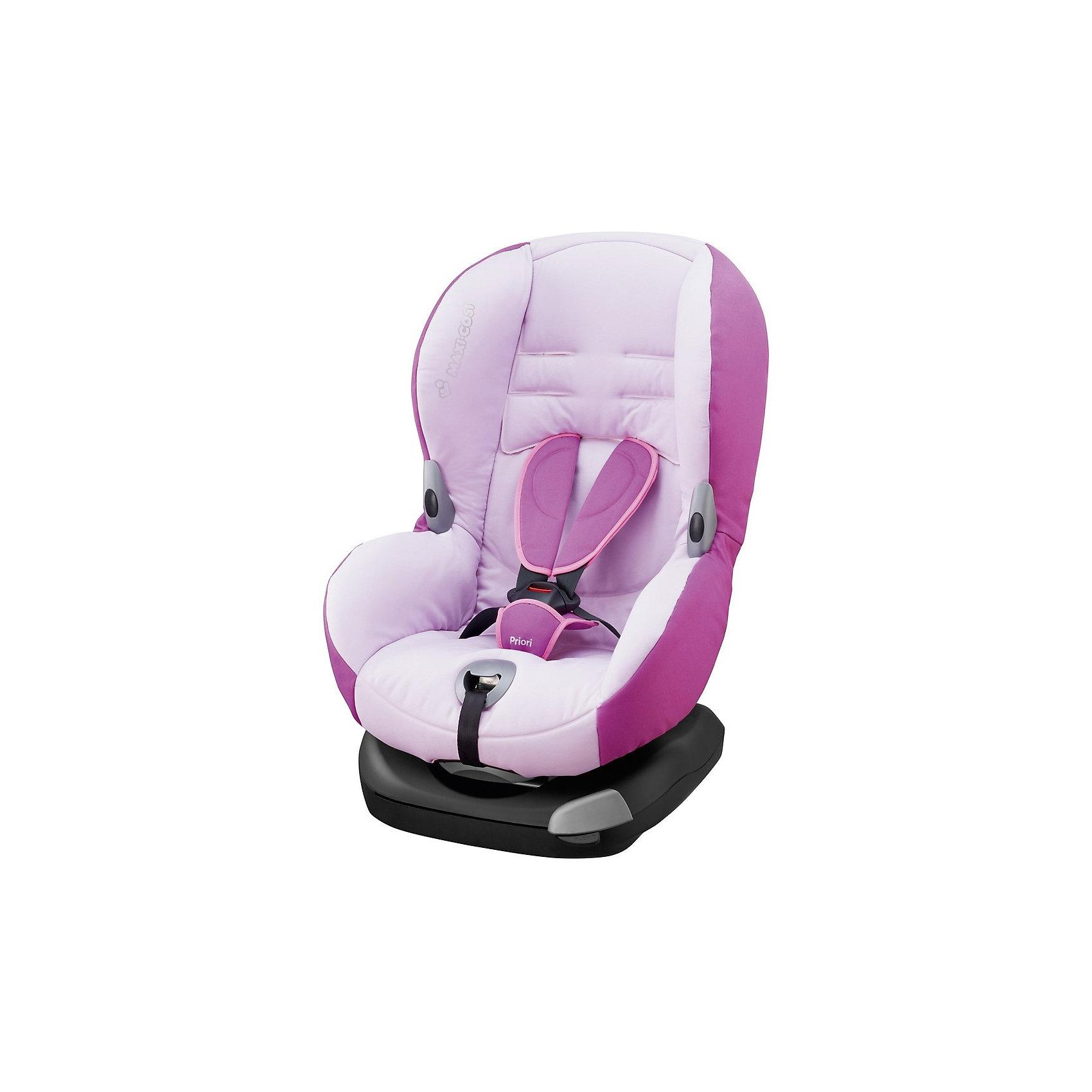 Автокресло Maxi-Cosi Priori ХР 9-18 кг, Marble PinkГруппа 1 (От 9 до 18 кг)<br>Это усовершенствованная модель Maxi-Cosi Priori, которая точно Вам понравится! В кресле изменилась спинка сидения, для большего комфорта, а также добавили механизм натяжения поясной части ремня безопасности автомобиля. Автокресло подойдет для всех типов автомобиля.<br><br>Особенности:<br>- Устанавливается по ходу движения.<br>- Фиксируется штатными ремнями безопасности.<br>- Централизованная система натяжения внутренних ремней безопасности.<br>- Пяти точечные точечные ремни безопасности.<br>- 4 позиции регулировки спинки.<br>- Оборудовано специальными крючками для ремней и удобной выдвижной пряжкой.<br>- Можно стирать.<br><br>Дополнительная информация:<br><br>- Возраст: от 9 месяцев до 4 лет. ( от 9 до 18 кг.)<br>- Цвет: Marble Pink.<br>- Материал: пластмасса, текстиль.<br>- Размер: 50х43х64 см.<br>- Вес в упаковке: 9.2 кг.<br><br>Купить автокресло Priori ХР (9-18 кг.) в цвете Marble Pink, можно в нашем магазине.<br><br>Ширина мм: 475<br>Глубина мм: 595<br>Высота мм: 610<br>Вес г: 7250<br>Возраст от месяцев: 4<br>Возраст до месяцев: 48<br>Пол: Унисекс<br>Возраст: Детский<br>SKU: 4975103