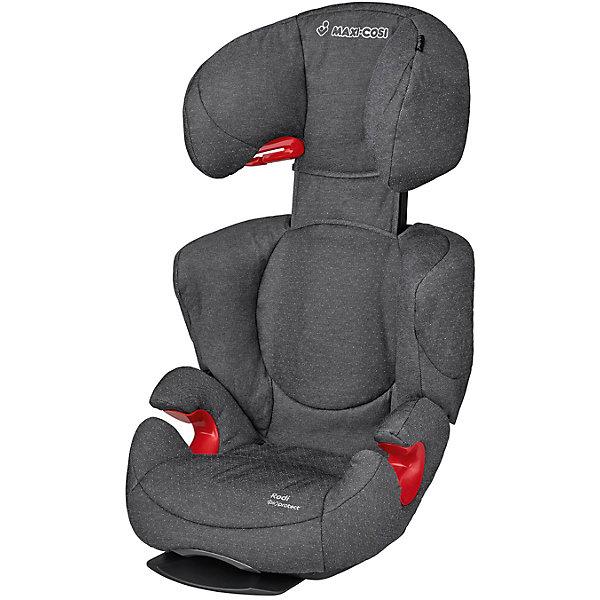 Автокресло Maxi-Cosi Rodi AirProtect 15-36 кг, Sparkling GreyГруппа 2-3  (от 15 до 36 кг)<br>Автокресло разработанное специально для детей от 3,5 до 12 лет, оно устанавливается по ходу движения и пристегивается трех точечным ремнем безопасности.<br>Кресло имеет дополнительные вставки в подголовнике, обеспечивающие еще большую безопасность. Подголовник имеет 8 фиксируемых положений, высота спинки увеличивается до 16 см. <br><br>Дополнительная информация:<br><br>- Возраст: от 3,5 до 12 лет. ( от 15 до 36 кг.)<br>- Цвет: Sparkling Grey.<br>- Материал: пластмасса, текстиль.<br>- Размер: 80x42x47 см.<br>- Вес в упаковке: 5 кг.<br><br>Купить автокресло Rodi AirProtect (15-36 кг.) в цвете Sparkling Grey, можно в нашем магазине.<br><br>Ширина мм: 490<br>Глубина мм: 635<br>Высота мм: 510<br>Вес г: 4900<br>Возраст от месяцев: 42<br>Возраст до месяцев: 144<br>Пол: Унисекс<br>Возраст: Детский<br>SKU: 4975105