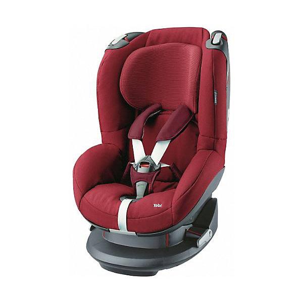 Автокресло Maxi-Cosi Tobi 9-18 кг, Robin RedГруппа 1 (от 9 до 18 кг)<br>Мягкое и комфортное детское автокресло прекрасно подойдет  для длительных поездок! Кресло имеет пять  уровней наклона спинки, что позволит установить кресло для сна и отдыха, так же подголовник имеет несколько положений для малыша — регулируется в 7 позициях вместе с внутренними пяти точечными ремнями. <br><br>Особенности:<br>-  Устанавливается по ходу движения автомобиля.<br>- Возможность установки на заднем и переднем сидении автомобиля.<br>-  Автокресло крепиться в автомобиле по верхней и нижней части.<br>- Надежная система защиты от боковых ударов<br>- Подголовник имеет ортопедическую вкладку.<br>- Пяти точечный регулируемый ремень безопасности.<br>- Специальные крючки позволяют фиксировать ремни<br>ремни автокресла держат форму, даже когда малыш не сидит в кресле, что облегчает процесс посадки ребенка в автокресло.<br>- Чехол можно стирать.<br><br>Дополнительная информация:<br><br>- Возраст: с 9 месяцев до 4 лет. ( от 9 до 18 кг.)<br>- Цвет: Robin Red.<br>- Материал: пластмасса, текстиль.<br>- Внешние размеры: 59х44х74 см.<br>- Ширина сиденья: 29 см.<br>- Глубина сиденья: 31 см.<br>- Вес в упаковке: 8.9 кг.<br><br>Купить автокресло Tobi (9-18 кг.) в цвете Robin Red,    можно в нашем магазине.<br>Ширина мм: 475; Глубина мм: 595; Высота мм: 610; Вес г: 7250; Возраст от месяцев: 4; Возраст до месяцев: 48; Пол: Унисекс; Возраст: Детский; SKU: 4975110;
