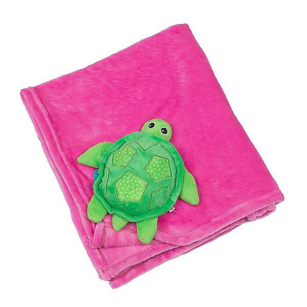 Одеяло с игрушкой Черепашка, Zoocchini, розовыйПледы и покрывала<br>Одеяло с игрушкой Черепашка, розовый от американского бренда Zoocchini (Зукинни) поможет в оформлении интерьера детской комнаты и приведет в восторг вашего ребенка. Яркий розовый цвет одеяла и мягкая подружка черепашка на уголке будут радовать глаз и развлекать, а мягкая плюшевая ткань очень приятна на ощупь и подарить тепло и комфорт маленькому крохе. Одеяло можно брать с собой на природу, в машину или в коляску во время прогулки прохладным вечером. <br>Дополнительная информация:<br>- Состав: 100% полиэстер<br>- Размер: 68,5 * 99 см.<br>Одеяло с игрушкой Черепашка, розовый Zoocchini(Зукини) можно купить в нашем интернет-магазине.<br>Подробнее:<br>• Для детей в возрасте: от 0 до 3 лет<br>• Номер товара: 4976012<br>Страна производитель: Китай<br>Ширина мм: 255; Глубина мм: 75; Высота мм: 255; Вес г: 418; Возраст от месяцев: 0; Возраст до месяцев: 36; Пол: Унисекс; Возраст: Детский; SKU: 4976012;