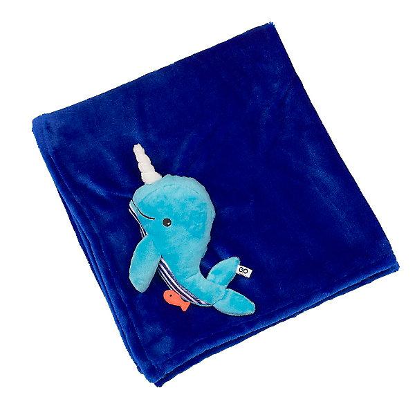 Одеяло с игрушкой Кит, Zoocchini, синийПледы и покрывала<br>Одеяло с игрушкой Кит, синий от американского бренда Zoocchini (Зукинни) поможет в оформлении интерьера детской комнаты и приведет в восторг вашего ребенка. Яркий синий цвет одеяла и мягкий друг Кит на уголке будут радовать глаз и развлекать, а нежная плюшевая ткань очень приятна на ощупь и подарить тепло и комфорт маленькому крохе. Одеяло можно брать с собой на природу, в машину или в коляску во время прогулки прохладным вечером. <br>Дополнительная информация:<br>- Состав: 100% полиэстер<br>- Размер: 68,5 * 99 см.<br>Одеяло с игрушкой Кит, синий Zoocchini(Зукини) можно купить в нашем интернет-магазине.<br>Подробнее:<br>• Для детей в возрасте: от 0 до 3 лет<br>• Номер товара: 4976015<br>Страна производитель: Китай<br>Ширина мм: 255; Глубина мм: 75; Высота мм: 255; Вес г: 418; Возраст от месяцев: 0; Возраст до месяцев: 36; Пол: Унисекс; Возраст: Детский; SKU: 4976015;