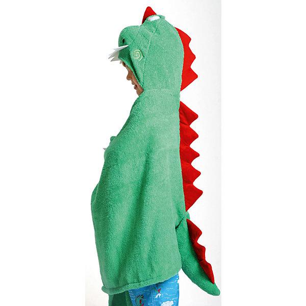 Полотенце с капюшоном Devin the Dinosaur (от 2 лет), ZoocchiniПолотенца<br>Полотенце с капюшоном Devin the Dinosaur (от 2 лет) Динозавр Дэвин от американского бренда Zoocchini (Зукинни) сделает принятие ванны еще уютнее и приятнее. Специалисты из США и Канады, объединенные любовью к животным, создали компанию с товарами для детей в виде зверей. Большое хлопковое полотенце прекрасно впитывает влагу, а забавный капюшон с качественно вышитым динозавриком защищает от сквозняков. По краям имеются дополнительные уголки для рук в виде лапок, превращая полотенце почти в костюм, отличный повод для веселого маскарада! Насыщенный зеленый цвет и дизайн придут по вкусу всей семье. Отлично подходит деткам от двух лет. <br>Дополнительная информация:<br><br>- Состав: 100% хлопок<br>- Размер: 127 * 55 см.<br>Полотенце с капюшоном Devin the Dinosaur (от 2 лет) Динозавр Дэвин, Zoocchini (Зукини) можно купить в нашем интернет-магазине.<br>Подробнее:<br>• Для детей в возрасте: от 2 лет<br>• Номер товара: 4976026<br>Страна производитель: Китай<br><br>Ширина мм: 305<br>Глубина мм: 50<br>Высота мм: 305<br>Вес г: 594<br>Возраст от месяцев: 24<br>Возраст до месяцев: 72<br>Пол: Унисекс<br>Возраст: Детский<br>SKU: 4976026