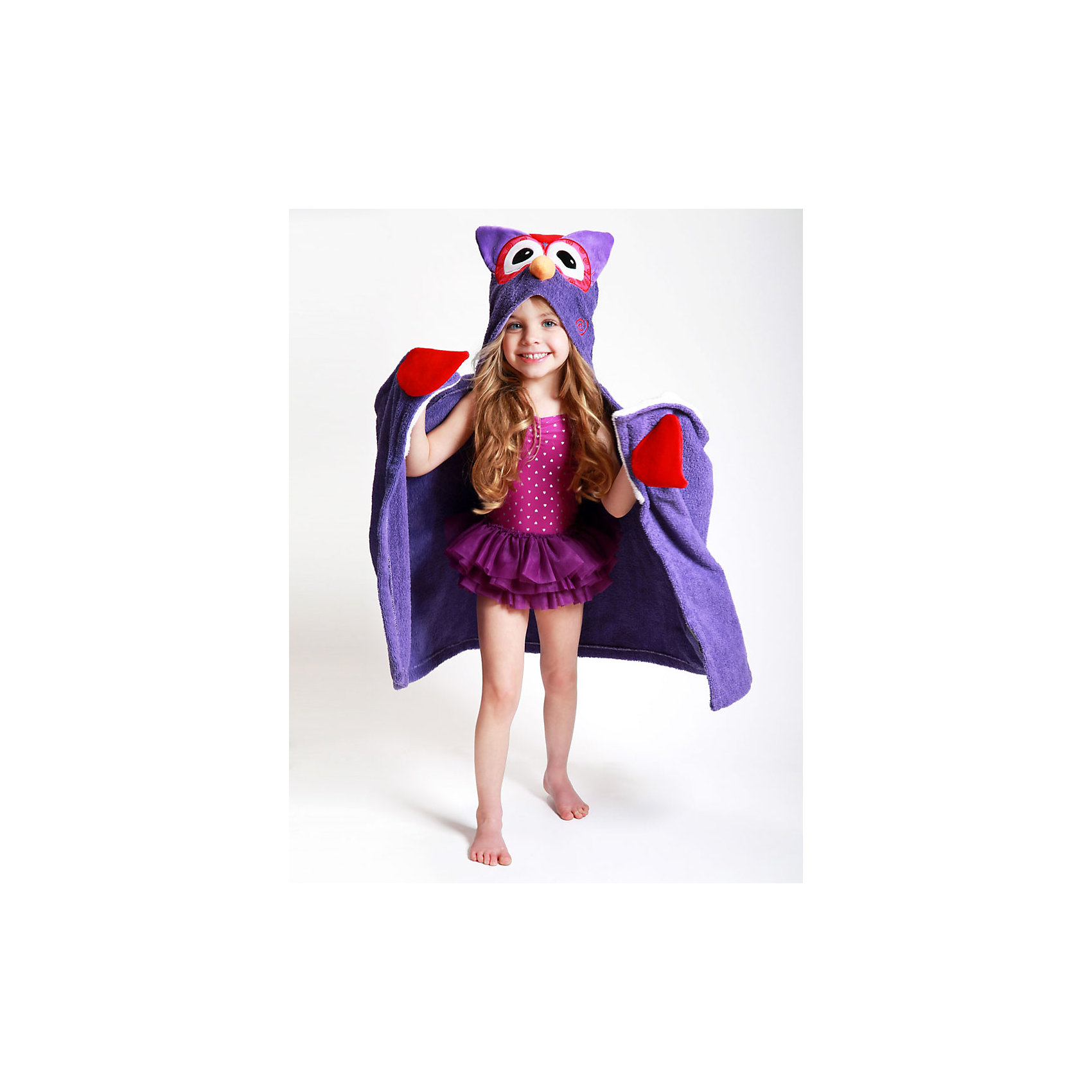 Полотенце с капюшоном Olive the Owl (от 2 лет), ZoocchiniПолотенца<br>Полотенце с капюшоном Olive the Owl (от 2 лет) Сова Оливия от американского бренда Zoocchini (Зукинни) сделает принятие ванны еще уютнее и приятнее. Специалисты из США и Канады, объединенные любовью к животным, создали компанию с товарами для детей в виде зверей. Большое хлопковое полотенце прекрасно впитывает влагу, а забавный капюшон с качественно вышитой совой защищает от сквозняков. По краям имеются дополнительные уголки для рук в виде крыльев, превращая полотенце почти в костюм, отличный повод для веселого маскарада! Приятный оранжевый цвет и дизайн придут по вкусу всей семье. Отлично подходит деткам от двух лет. <br>Дополнительная информация:<br><br>- Состав: 100% хлопок<br>- Размер: 127 * 55 см.<br>Полотенце с капюшоном Olive the Owl (от 2 лет) Сова Оливия, Zoocchini (Зукини) можно купить в нашем интернет-магазине.<br>Подробнее:<br>• Для детей в возрасте: от 2 лет<br>• Номер товара: 4976031<br>Страна производитель: Китай<br><br>Ширина мм: 305<br>Глубина мм: 50<br>Высота мм: 305<br>Вес г: 594<br>Возраст от месяцев: 24<br>Возраст до месяцев: 72<br>Пол: Унисекс<br>Возраст: Детский<br>SKU: 4976031
