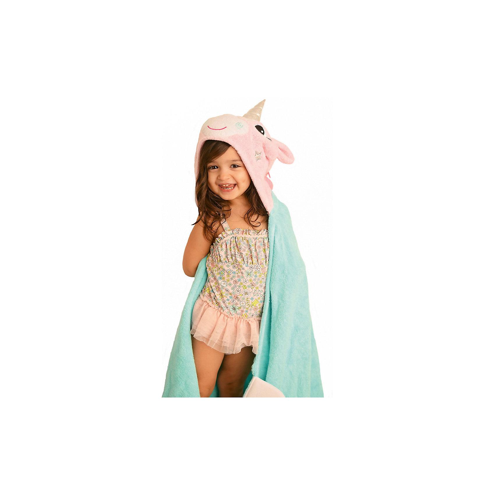 Полотенце с капюшоном Allie the Alicorn (от 2 лет), ZoocchiniДомашний текстиль<br>Полотенце с капюшоном Allie the Alicorn (от 2 лет) Аликорн Алли от американского бренда Zoocchini (Зукинни) сделает принятие ванны еще уютнее и приятнее. Специалисты из США и Канады, объединенные любовью к животным, создали компанию с товарами для детей в виде зверей. Большое хлопковое полотенце прекрасно впитывает влагу, а забавный капюшон с качественно вышитым аликорном защищает от сквозняков. По краям имеются дополнительные уголки для рук в виде крыльев, превращая полотенце почти в костюм, отличный повод для веселого маскарада! Нежный розовый и голубой цвета и дизайн придут по вкусу всей семье. Отлично подходит деткам от двух лет. <br>Дополнительная информация:<br><br>- Состав: 100% хлопок<br>- Размер: 127 * 55 см.<br>Полотенце с капюшоном Allie the Alicorn (от 2 лет) Аликорн Алли, Zoocchini (Зукини) можно купить в нашем интернет-магазине.<br>Подробнее:<br>• Для детей в возрасте: от 2 лет<br>• Номер товара: 4976034<br>Страна производитель: Китай<br><br>Ширина мм: 305<br>Глубина мм: 50<br>Высота мм: 305<br>Вес г: 678<br>Возраст от месяцев: 24<br>Возраст до месяцев: 72<br>Пол: Унисекс<br>Возраст: Детский<br>SKU: 4976034