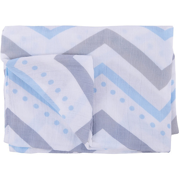 Бамбуковая муслиновая пелёнка 120х120 см, Lulujo, Blue ChevronПеленки для новорожденных<br>Бамбуковая муслиновая пелёнка 120х120 см, Lulujo, Blue Chevron это двухслойные мягкие пеленки большого размера предназначенные как для пеленания, так и покрывала или использования в качестве обычных простыней. Приятные серые и голубые орнаменты на нейтральном белом фоне помогут создать атмосферу уюта в комнате малыша. Свойства ткани из бамбуковой вискозы  делают пеленку мягче с каждой стиркой. Материал пропускает вохдух и впитывает излишнюю влагу. С этой тканью кожа ребенка дышит.<br>Дополнительная информация:<br><br>- В комплект входит: 1 пеленка<br>- Тип ткани: Муслин<br>- Состав: 70% бамбуковое волокно, 30% хлопок <br>- Размер: 120 * 120 см. <br>- Cтирка: машинная, 40 градусов<br><br>Бамбуковую муслиновую пелёнку 120х120 см, Lulujo, Blue Chevron можно купить в нашем интернет-магазине.<br>Подробнее:<br>• Для детей в возрасте: от 0 лет<br>• Номер товара: 4976062<br>Страна производитель: Турция<br>Ширина мм: 100; Глубина мм: 55; Высота мм: 240; Вес г: 194; Возраст от месяцев: 0; Возраст до месяцев: 36; Пол: Унисекс; Возраст: Детский; SKU: 4976062;