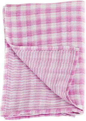 Муслиновая пелёнка двусторонняя 120х120, Lulujo, Passion Pink