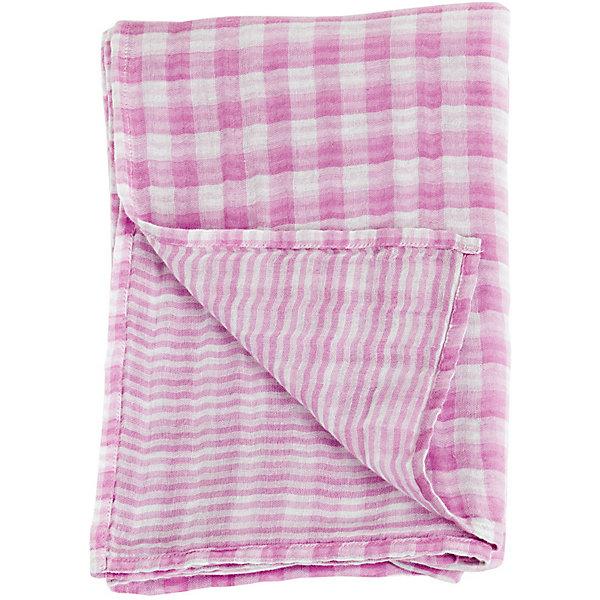 Муслиновая пелёнка двусторонняя 120х120, Lulujo, Passion PinkПеленки для новорожденных<br>Муслиновая пелёнка двусторонняя 120х120, Lulujo, Passion Pink это двухсторонние мягкие пеленки большого размера предназначенные как для пеленания, так и покрывала или использования в качестве обычных простыней. Приятные розовые клетка и полоски на нейтральном белом фоне помогут создать атмосферу уюта в комнате малыша. Хлопковый муслин обеспечит малышу комфорт и тепло, материал отлично пропускает вохдух, с этой тканью кожа ребенка дышит.<br>Дополнительная информация:<br><br>- В комплект входит: 1 пеленка<br>- Тип ткани: Муслин<br>- Состав: 100% хлопок <br>- Размер: 120 * 120 см. <br>- Cтирка: машинная, 40 градусов<br><br>Муслиновую пелёнку двустороннюю 120х120, Lulujo, Passion Pink можно купить в нашем интернет-магазине.<br>Подробнее:<br>• Для детей в возрасте: от 0 лет<br>• Номер товара: 4976064<br>Страна производитель: Турция<br><br>Ширина мм: 100<br>Глубина мм: 55<br>Высота мм: 240<br>Вес г: 188<br>Возраст от месяцев: 0<br>Возраст до месяцев: 36<br>Пол: Унисекс<br>Возраст: Детский<br>SKU: 4976064