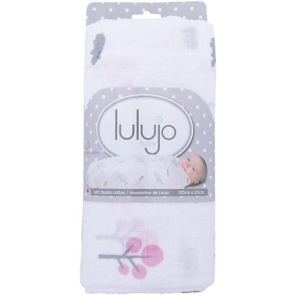 Муслиновая пелёнка Pink Hippo 120х120, Lulujo, розовыйПеленки для новорожденных<br>Муслиновая пелёнка Pink Hippo 120х120, Lulujo, розовый - это двухсторонняя мягкая пеленка большого размера, предназначена как для пеленания, так и покрывала или использования в виде обычных простыней. Приятные серые бегемотики и розовые деревья на нейтральном белом фоне помогут создать атмосферу уюта в комнате малыша. Хлопковый муслин обеспечит малышу комфорт и тепло, материал отлично пропускает воздух, с этой тканью кожа ребенка дышит.<br>Дополнительная информация:<br><br>- В комплект входит: 1 пеленка<br>- Тип ткани: Муслин<br>- Состав: 100% хлопок <br>- Размер: 120 * 120 см. <br>- Cтирка: машинная, 40 градусов<br><br><br>Муслиновую пелёнку Pink Hippo 120х120, Lulujo розовый можно купить в нашем интернет-магазине.<br>Подробнее:<br>• Для детей в возрасте: от 0 лет<br>• Номер товара: 4976069<br>Страна производитель: Турция<br>Ширина мм: 100; Глубина мм: 55; Высота мм: 240; Вес г: 160; Возраст от месяцев: 0; Возраст до месяцев: 36; Пол: Унисекс; Возраст: Детский; SKU: 4976069;