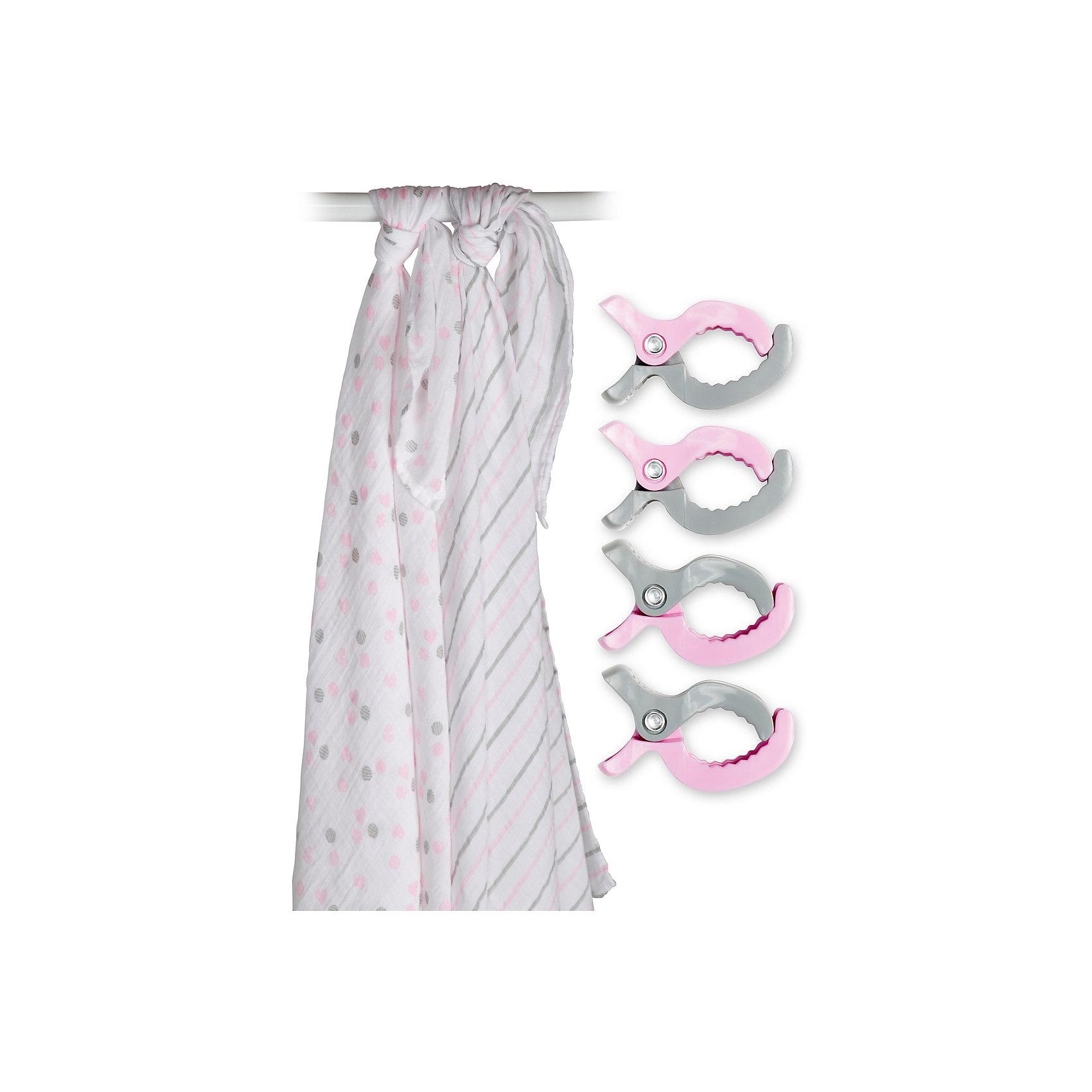 Муслиновая пелёнка 2 шт. с клипсами 4 шт., 120х120, Lulujo, розовыйВсе для пеленания<br>Муслиновая пелёнка 2 шт. с клипсами 4 шт., 120х120, Lulujo, розовый - это набор из двух двухслойных мягких пеленок большого размера, предназначенных как для пеленания, так и покрывала или использования в виде обычных простыней. Четыре зажима, совпадающих с пеленками по цвету позволяют вешать пеленки на коляски, или в машине, защищая малыша от ярких солнечных лучей. Приятные рисунки розового и серого цветов помогут создать атмосферу уюта, а хлопковый муслин обеспечит малышу комфорт и тепло, материал отлично пропускает воздух, с этой тканью кожа ребенка дышит.<br>Дополнительная информация:<br><br>- В комплект входит: 2 пеленки, 4 зажима<br>- Тип ткани: Муслин<br>- Состав: 100% хлопок, пластик<br>- Размер: 120 * 120 см. <br>- Cтирка: машинная, 40 градусов<br><br>Муслиновые пелёнки 2 шт. с клипсами 4 шт., 120х120, Lulujo, розовый можно купить в нашем интернет-магазине.<br>Подробнее:<br>• Для детей в возрасте: от 0 лет<br>• Номер товара: 4976073<br>Страна производитель: Турция<br><br>Ширина мм: 270<br>Глубина мм: 60<br>Высота мм: 270<br>Вес г: 536<br>Возраст от месяцев: 0<br>Возраст до месяцев: 36<br>Пол: Унисекс<br>Возраст: Детский<br>SKU: 4976073