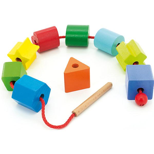 Бусы Геометрия, Мир деревянных игрушекМДИ (Мир деревянных игрушек)<br>Дети спешат узнавать мир, и делать это приятнее, играя! Развивающие игрушки помогают малышу быстрее освоить нужные навыки: они развивают мелкую моторику, цветовосприятие, умение логически размышлять, внимание, способность распознавать разные геометрические формы и многое другое.<br>Эта игрушка в виде бус сделана из натурального дерева, отлично обработанного и безопасного для малышей. Игра с ней может надолго занять ребенка!<br><br>Дополнительная информация:<br><br>цвет: разноцветный;<br>материал: дерево;<br>размер упаковки: 12 х 12 х 16 см.<br><br>Бусы Геометрия от компании Мир деревянных игрушек можно купить в нашем магазине.<br><br>Ширина мм: 125<br>Глубина мм: 125<br>Высота мм: 160<br>Вес г: 336<br>Возраст от месяцев: 36<br>Возраст до месяцев: 2147483647<br>Пол: Унисекс<br>Возраст: Детский<br>SKU: 4976691