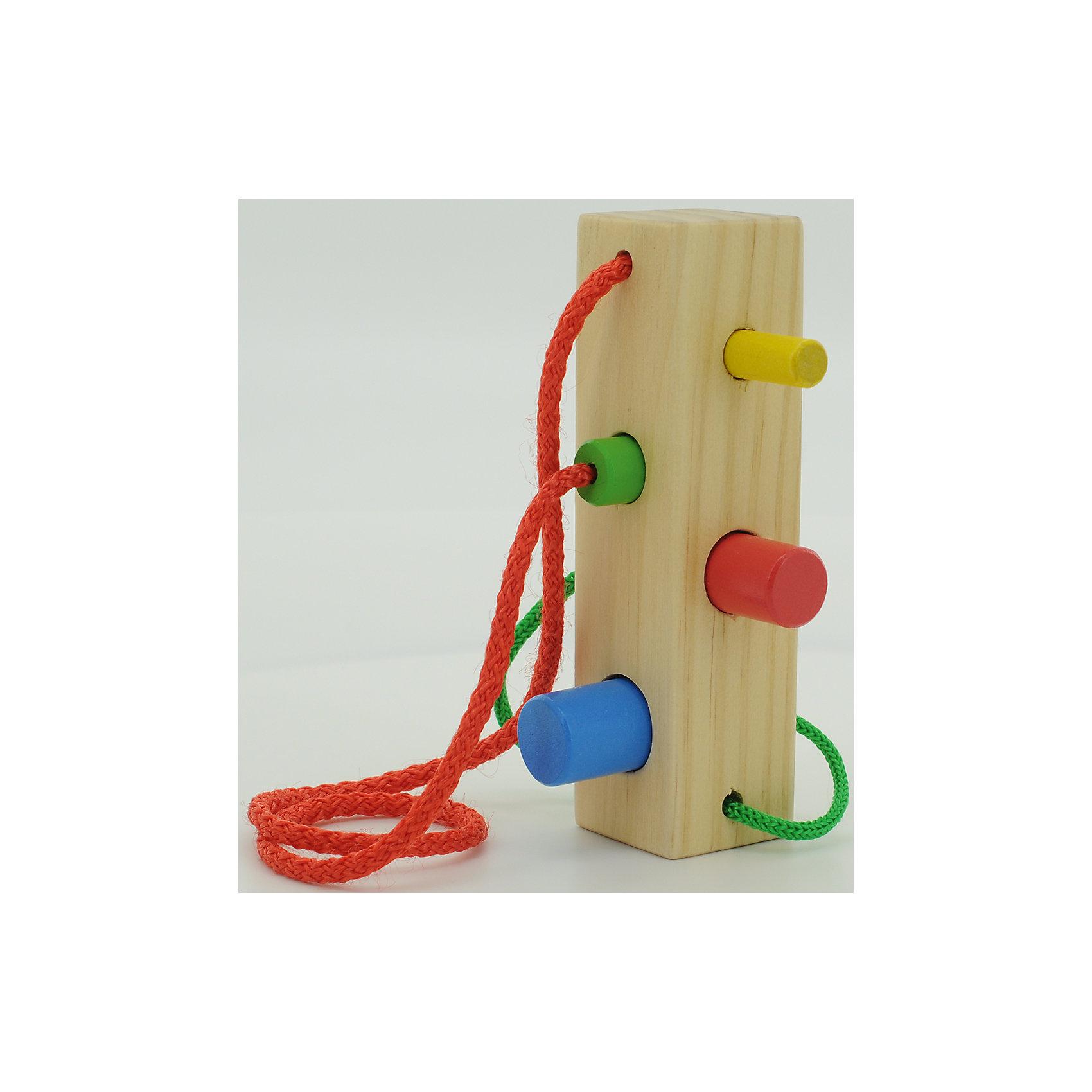 Шнуровка-сортер  Брусочек, Мир деревянных игрушекРазвивающие игрушки помогают малышу быстрее освоить нужные навыки: они развивают мелкую моторику, цветовосприятие, умение логически размышлять, внимание, способность распознавать разные геометрические формы и многое другое.<br>Эта шнуровка-сортер сделана из натурального дерева, отлично обработанного и безопасного для малышей. Игра с ней может надолго занять ребенка!<br><br>Дополнительная информация:<br><br>цвет: разноцветный;<br>материал: дерево;<br>размер упаковки: 10 х 14 х 10 см.<br><br>Шнуровку-сортер Брусочек от компании Мир деревянных игрушек можно купить в нашем магазине.<br><br>Ширина мм: 95<br>Глубина мм: 140<br>Высота мм: 95<br>Вес г: 138<br>Возраст от месяцев: 36<br>Возраст до месяцев: 2147483647<br>Пол: Унисекс<br>Возраст: Детский<br>SKU: 4976692
