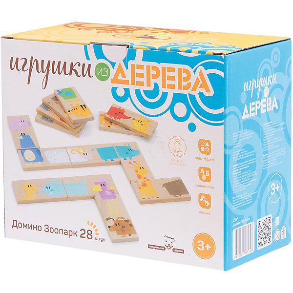 Домино Зоопарк, Мир деревянных игрушек