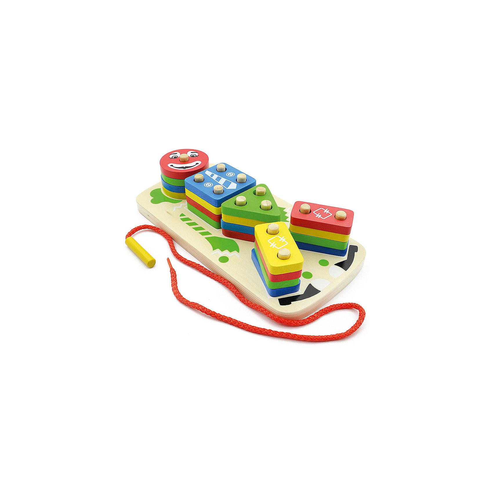 Клоун Пирамидка, Мир деревянных игрушекРазвивающие игрушки помогают малышу быстрее освоить нужные навыки: они развивают мелкую моторику, цветовосприятие, умение логически размышлять, внимание, способность распознавать разные геометрические формы и многое другое.<br>Эта пирамидка-сортер сделана из натурального дерева, отлично обработанного и безопасного для малышей. Игра с ней может надолго занять ребенка!<br><br>Дополнительная информация:<br><br>цвет: разноцветный;<br>материал: дерево;<br>комплектация: 20 фигурок, сортер;<br>размер упаковки: 21 х 11 х 7 см.<br><br>Клоун Пирамидка от компании Мир деревянных игрушек можно купить в нашем магазине.<br><br>Ширина мм: 210<br>Глубина мм: 110<br>Высота мм: 65<br>Вес г: 519<br>Возраст от месяцев: 36<br>Возраст до месяцев: 2147483647<br>Пол: Унисекс<br>Возраст: Детский<br>SKU: 4976697