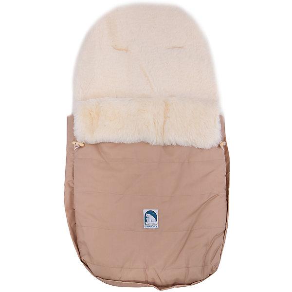 Конверт 968 BE, Heitmann Felle, бежевыйДетские конверты<br>Меховой конверт Heitmann Felle предназначен для прогулок с малышом, в том числе, в коляске и автокресле. Мех ягненка внутри конверта имеет высоту в 30 мм и прекрасно сохранит тепло и уют для крохи. Материалы, из которых изготовлен конверт, гипоаллергенны и водонепроницаемы. Удобно застегивается с помощью двухсторонней молнии.  Для безопасных прогулок в коляске предусмотрены прорези для пятиточечных ремней безопасности. Конверт можно стирать при температуре 30°. Подарите крохе тепло и комфорт с конвертом Heitmann Felle!<br><br>Дополнительная информация:<br>-антиаллергенный материал<br>-верх отстегивается<br>-двухсторонняя молния<br><br>Материал: овчина, ткань<br>Размер: 90х50 см<br>Вес: 3 кг<br>Цвет: бежевый<br>Вы можете приобрести конверт Heitmann Felle в нашем интернет-магазине.<br>Ширина мм: 860; Глубина мм: 490; Высота мм: 100; Вес г: 2000; Цвет: бежевый; Возраст от месяцев: 0; Возраст до месяцев: 12; Пол: Унисекс; Возраст: Детский; SKU: 4977804;