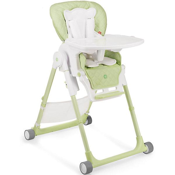Стульчик для кормления William V2, Happy Baby, зеленыйСтульчики для кормления<br>Стульчик для кормления Wiliam V2 - прекрасный вариант для малышей и их родителей! Стульчик имеет удобное мягкое сиденье эргономичной формы с дополнительным матрасиком для малышей. Пятиточечные страховочные ремни обеспечат безопасность даже самым активным малышам. Съемная столешница регулируется в 3-х положениях (по глубине), дополнена съемным подносом с подстаканником. Три положения наклона сиденья обеспечат комфортное кормление, а регулировка по высоте и регулируемая подножка позволяют стульчику расти вместе с ребенком. Стул имеет колеса, облегчающие перемещение по квартире, легко и быстро складывается, в сложенном виде занимает мало места. В комплекте - сетка для игрушек.<br><br>Дополнительная информация:<br><br>- Материал: пластик, металл, экокожа, текстиль. <br>- Размер: 79х60х100 см. <br>- Размер в сложенном виде: 45х60х82 см. <br>- Ширина сиденья: 32 см.<br>- Ширина колесной базы: 54 см.<br>- Вес: 10,8 кг.<br>- Максимальный вес ребенка: 15 кг.<br>- Регулируемое сиденье.<br>- Регулируемая подножка.<br>- Регулировка по высоте.<br>- Съемный чехол. <br>- Съемная столешница (регулируется по глубине в 3 положениях). <br>- 5-титочечные ремни безопасности. <br>- 4 колеса. <br>- Мягкий вкладыш для малышей. <br>- Сетка для игрушек в комплекте. <br><br>Стульчик для кормления Wiliam V2, Happy Baby (Хеппи Беби), зеленый, можно купить в нашем магазине.<br><br>Ширина мм: 450<br>Глубина мм: 345<br>Высота мм: 740<br>Вес г: 11400<br>Цвет: зеленый<br>Возраст от месяцев: 6<br>Возраст до месяцев: 36<br>Пол: Унисекс<br>Возраст: Детский<br>SKU: 4978410