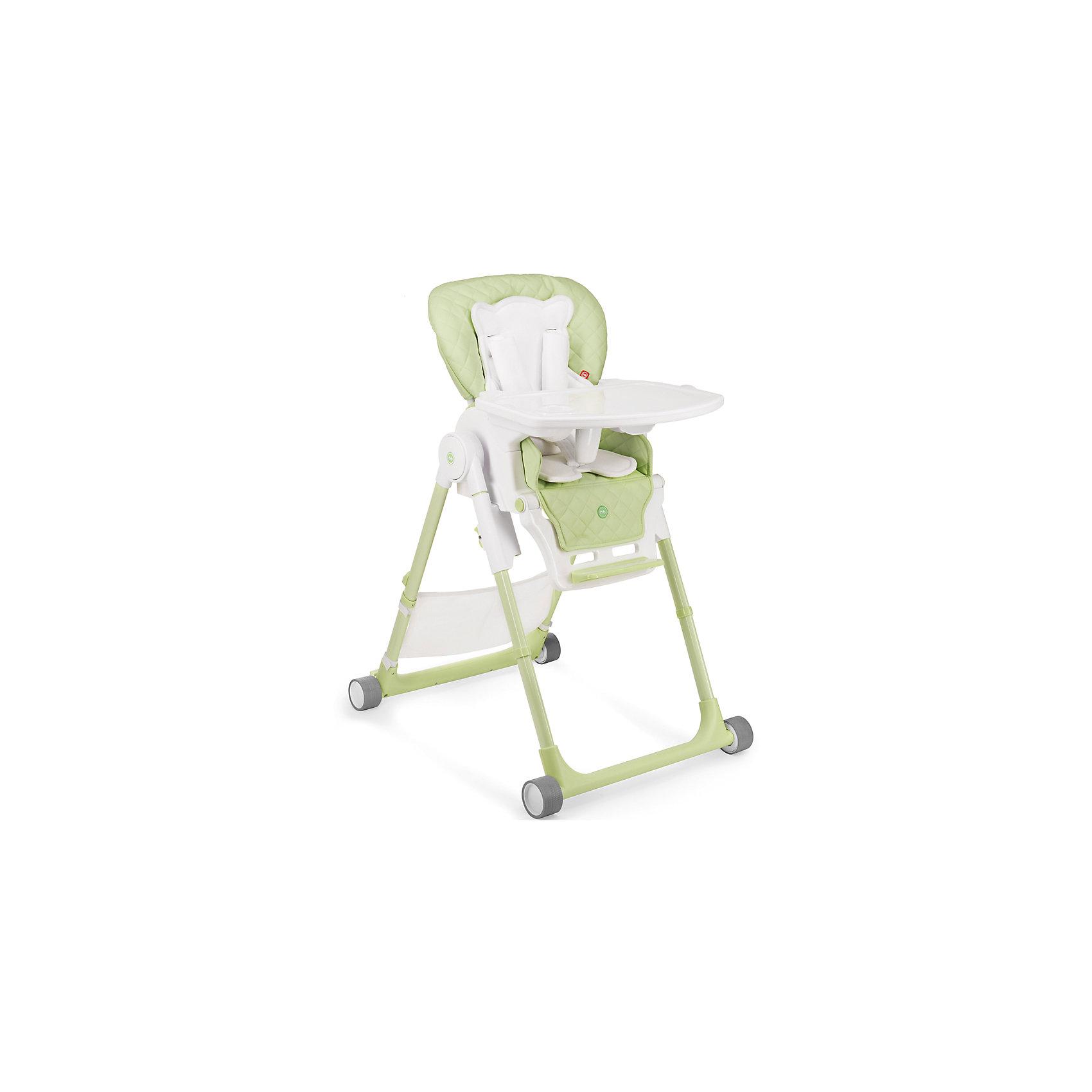 Стульчик для кормления William V2, Happy Baby, зеленыйот +6 месяцев<br>Стульчик для кормления Wiliam V2 - прекрасный вариант для малышей и их родителей! Стульчик имеет удобное мягкое сиденье эргономичной формы с дополнительным матрасиком для малышей. Пятиточечные страховочные ремни обеспечат безопасность даже самым активным малышам. Съемная столешница регулируется в 3-х положениях (по глубине), дополнена съемным подносом с подстаканником. Три положения наклона сиденья обеспечат комфортное кормление, а регулировка по высоте и регулируемая подножка позволяют стульчику расти вместе с ребенком. Стул имеет колеса, облегчающие перемещение по квартире, легко и быстро складывается, в сложенном виде занимает мало места. В комплекте - сетка для игрушек.<br><br>Дополнительная информация:<br><br>- Материал: пластик, металл, экокожа, текстиль. <br>- Размер: 79х60х100 см. <br>- Размер в сложенном виде: 45х60х82 см. <br>- Ширина сиденья: 32 см.<br>- Ширина колесной базы: 54 см.<br>- Вес: 10,8 кг.<br>- Максимальный вес ребенка: 15 кг.<br>- Регулируемое сиденье.<br>- Регулируемая подножка.<br>- Регулировка по высоте.<br>- Съемный чехол. <br>- Съемная столешница (регулируется по глубине в 3 положениях). <br>- 5-титочечные ремни безопасности. <br>- 4 колеса. <br>- Мягкий вкладыш для малышей. <br>- Сетка для игрушек в комплекте. <br><br>Стульчик для кормления Wiliam V2, Happy Baby (Хеппи Беби), зеленый, можно купить в нашем магазине.<br><br>Ширина мм: 450<br>Глубина мм: 345<br>Высота мм: 740<br>Вес г: 11400<br>Возраст от месяцев: 6<br>Возраст до месяцев: 36<br>Пол: Унисекс<br>Возраст: Детский<br>SKU: 4978410