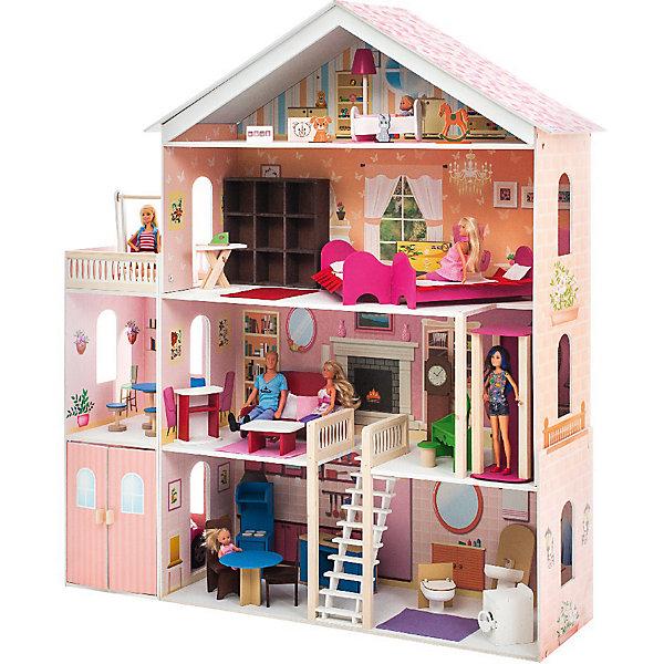 Купить Домик для Барби Мечта , с аксессуарами, PAREMO, Россия, Женский