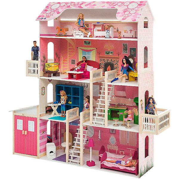 Купить Домик для Барби Нежность , с аксессуарами, PAREMO, Россия, Женский